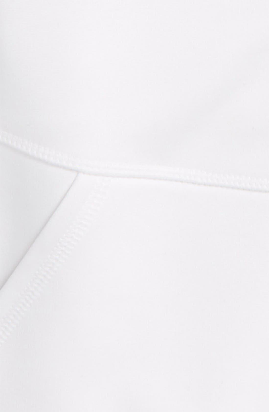 Alternate Image 2  - Zella Girl Soft Tech Fleece Jacket (Little Girls & Big Girls)