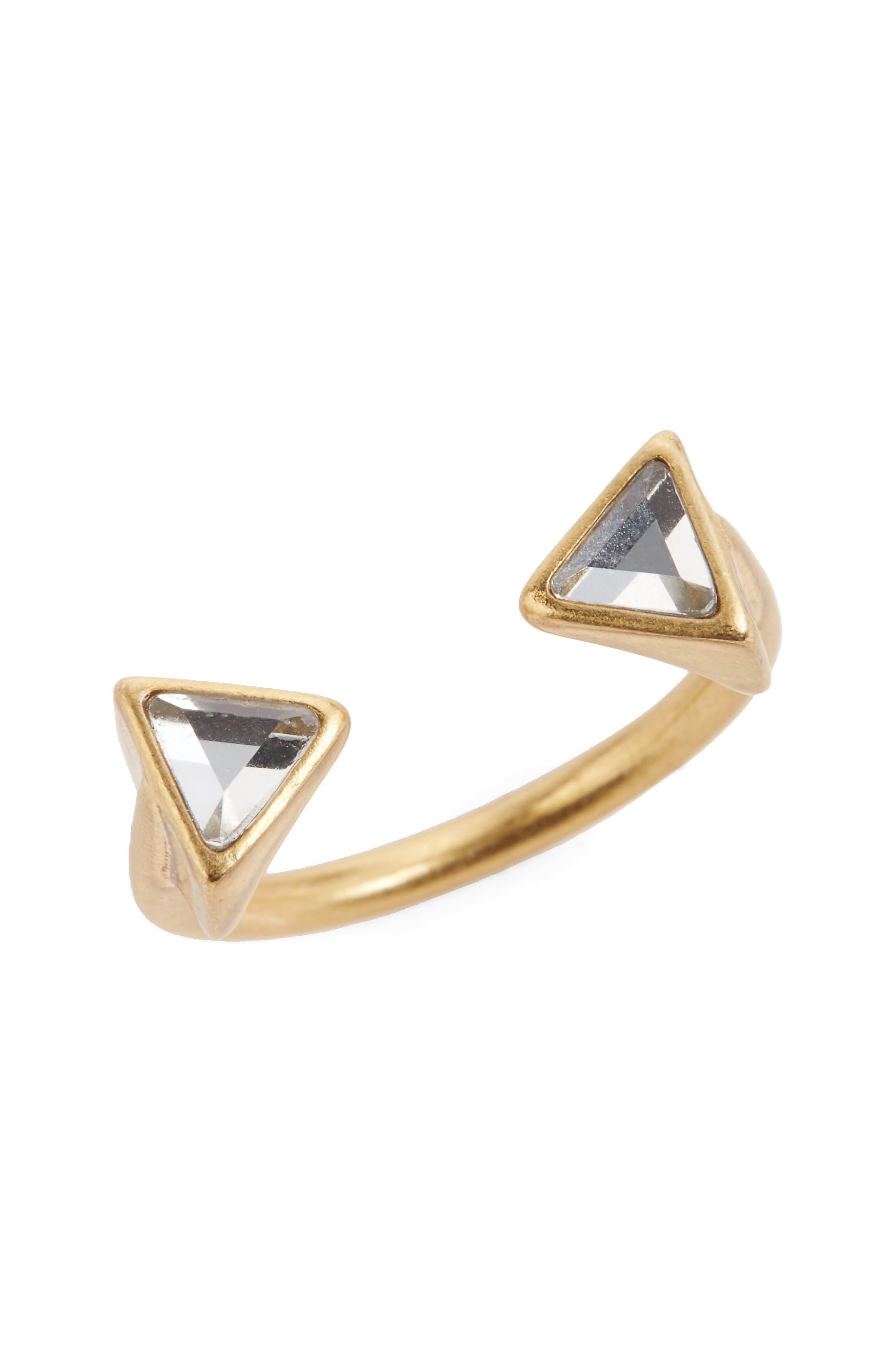 Alternate Image 1 Selected - Madewell Crystal Ball Ring
