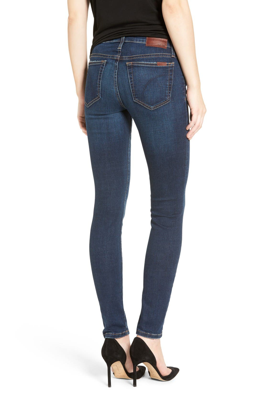 Alternate Image 2  - Joe's Flawless - Honey Curvy Skinny Jeans (Tania)