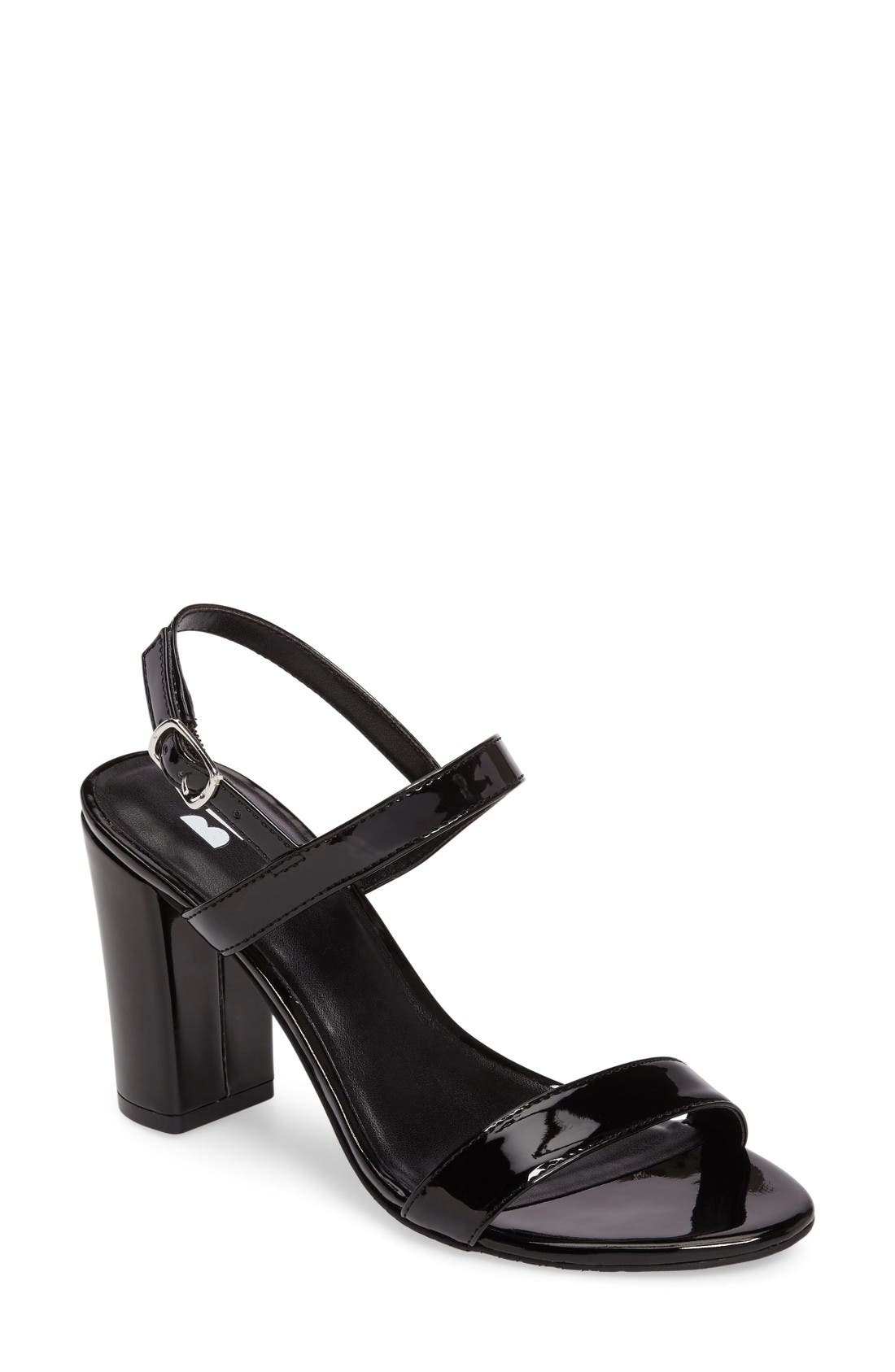 Black sandals with straps - Black Sandals With Straps 50