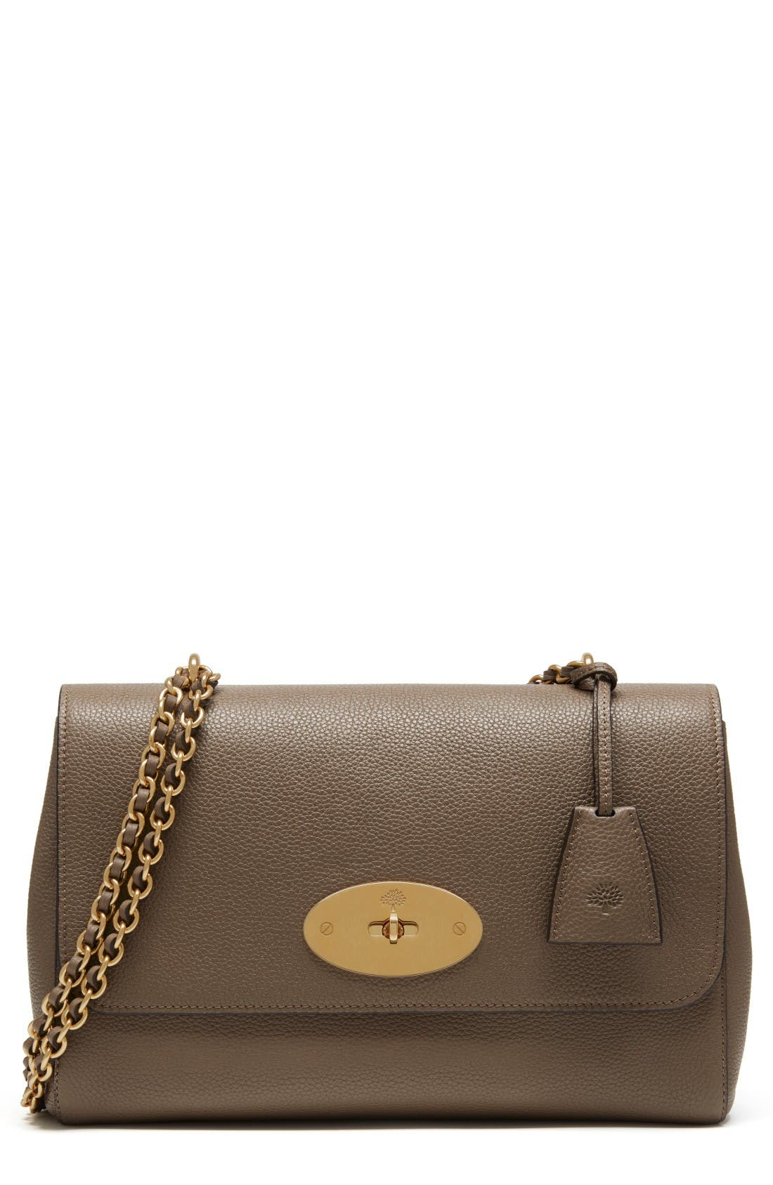 Main Image - Mulberry Medium Lily Convertible Leather Crossbody Clutch