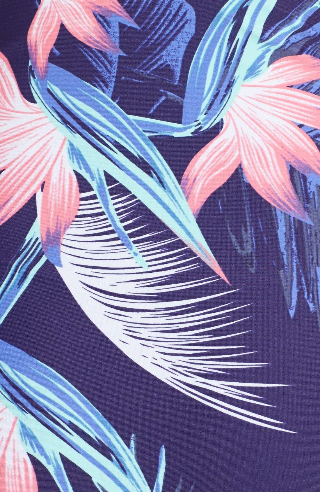 Alternate Image 3  - Roxy 'Tropical Getaway' One-Piece Swimsuit