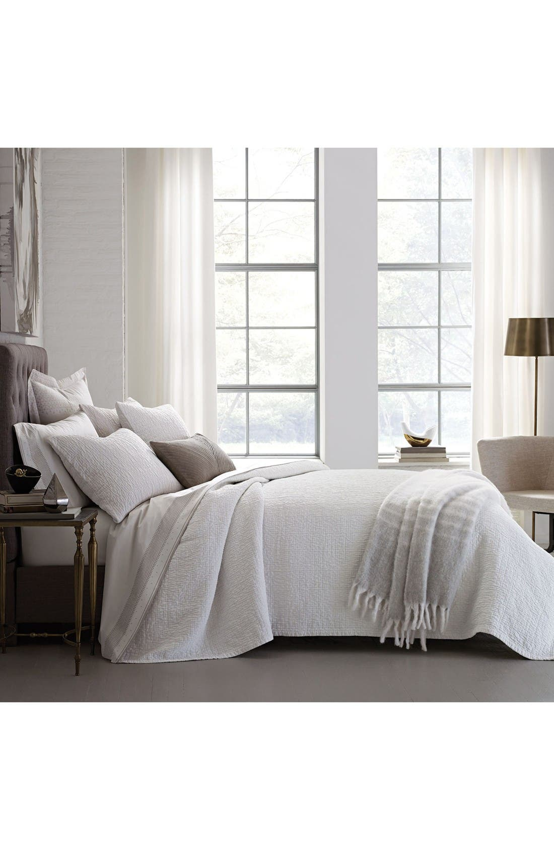 DwellStudio Woodgrain Matelassé Bedding Collection