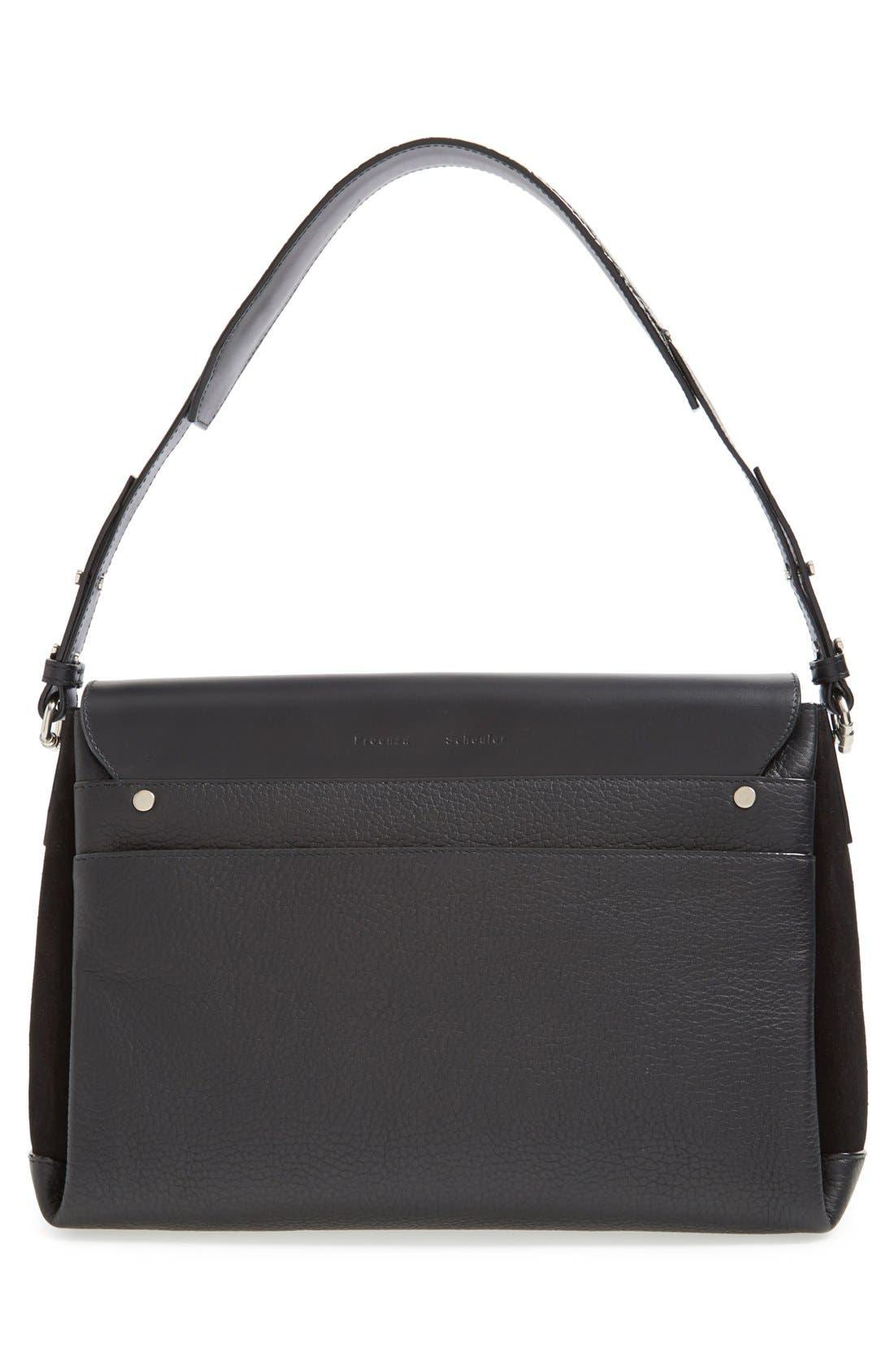 Alternate Image 4  - Proenza Schouler 'Elliot' Leather Shoulder Bag