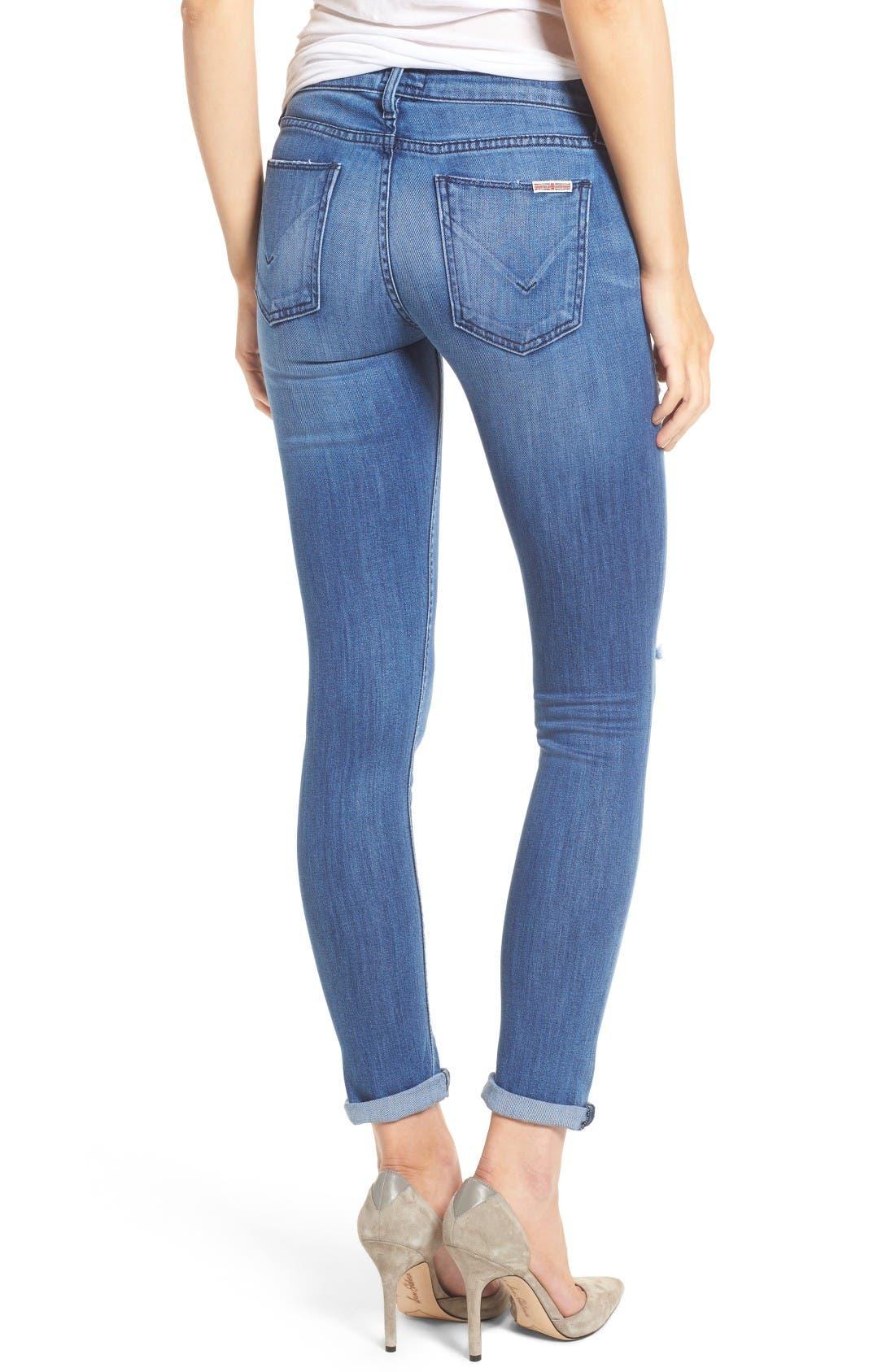 Alternate Image 2  - Hudson Tally Crop Skinny Jeans (Encounter)