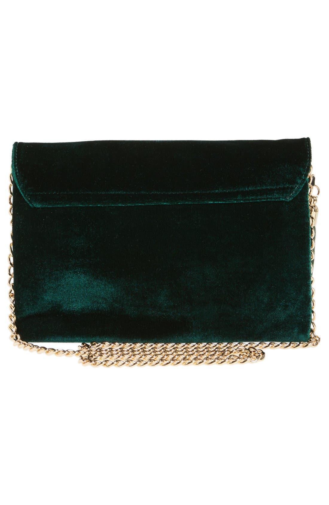 Alternate Image 3  - BP. Tassel Velvet Crossbody Bag