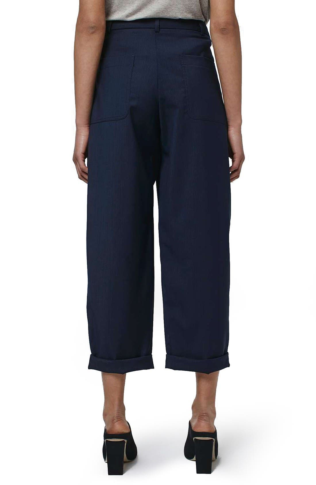 Alternate Image 3  - Topshop Boutique Wool Trousers