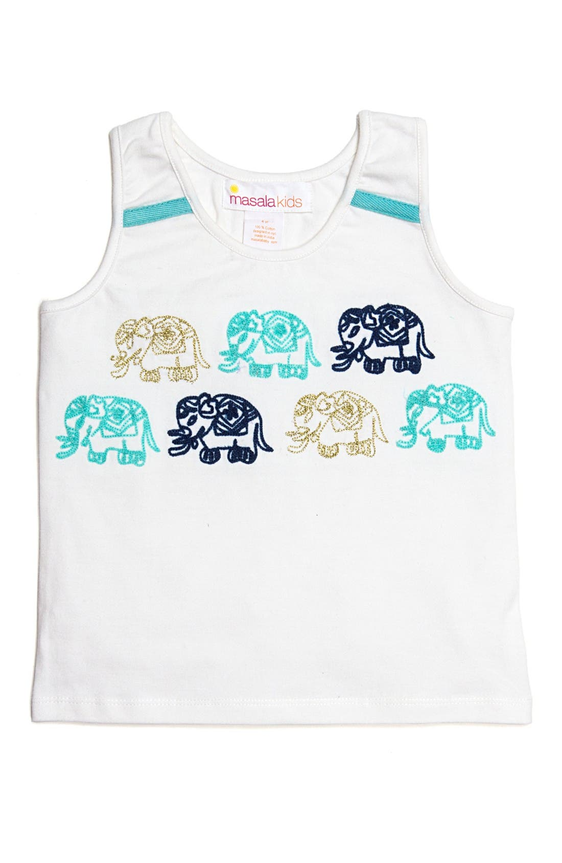 Masalababy Gajah Graphic Tank (Toddler Girls, Little Girls & Big Girls)