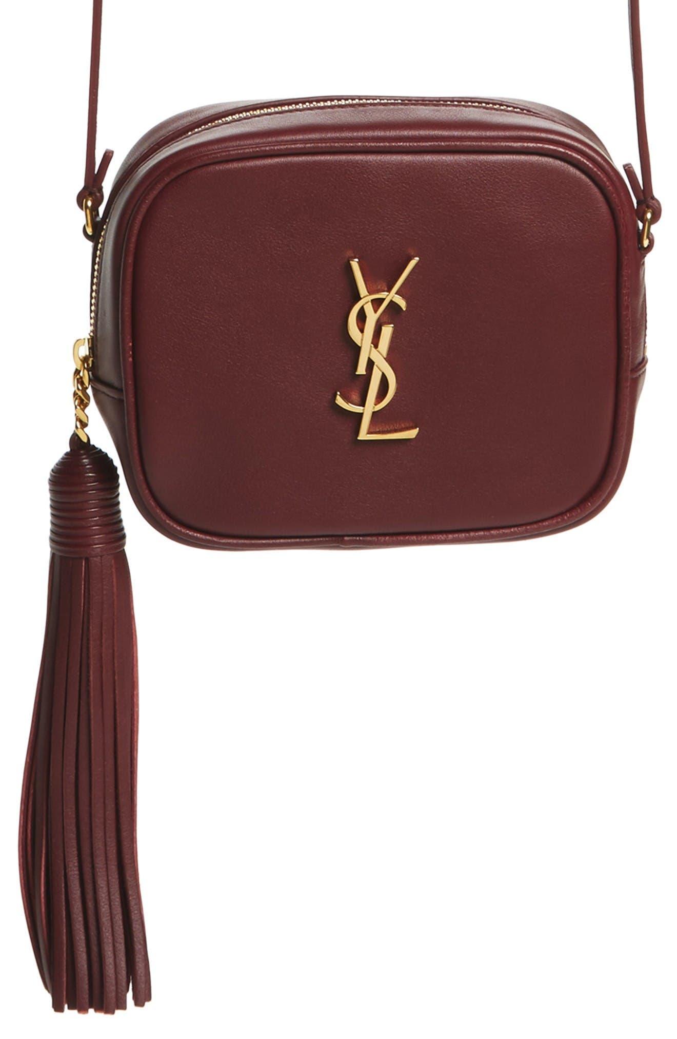 Main Image - Saint Laurent 'Monogram Mini Blogger' Crossbody Bag
