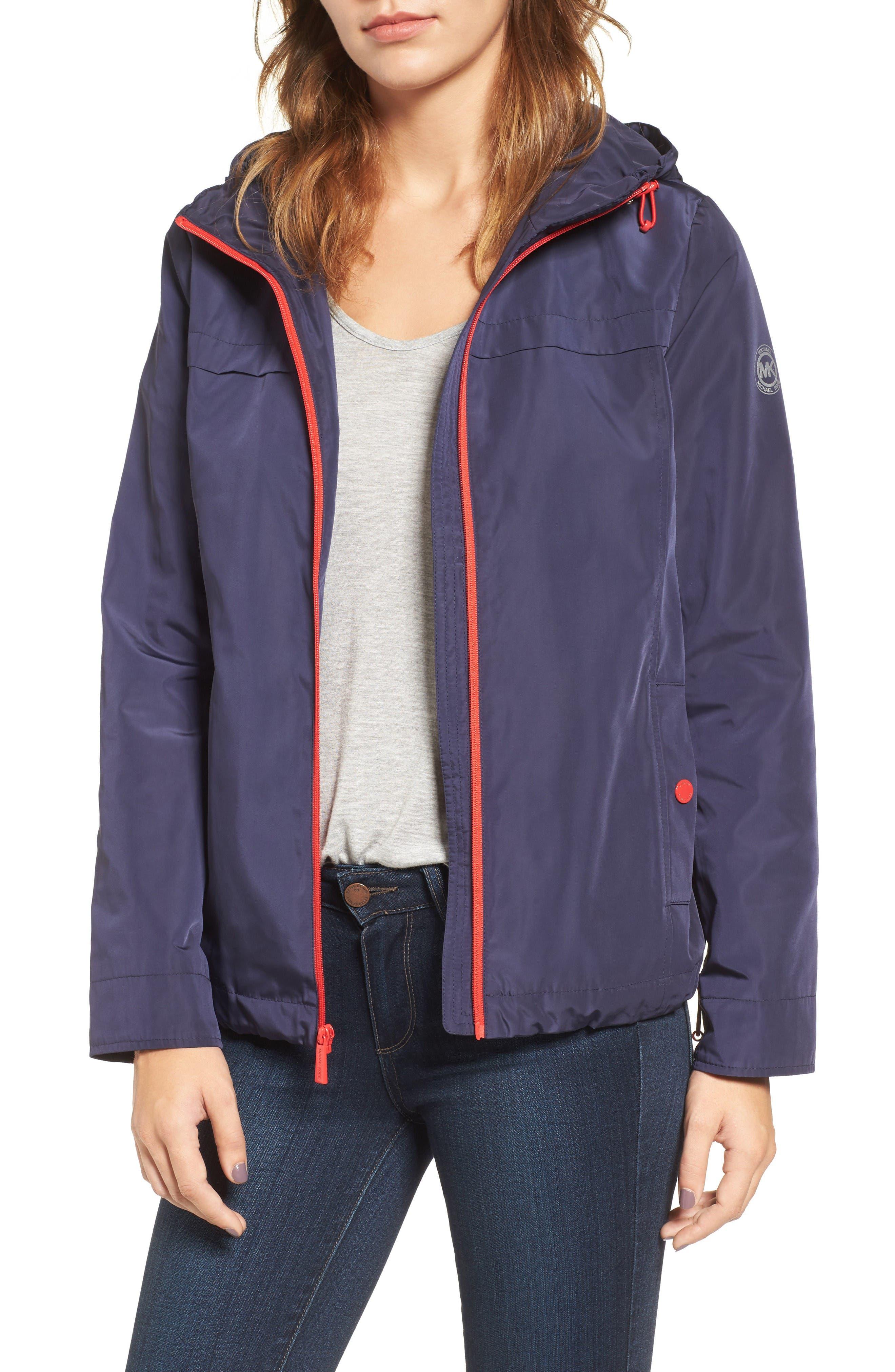 MICHAEL Michael Kors Hooded Jacket (Regular & Petite)