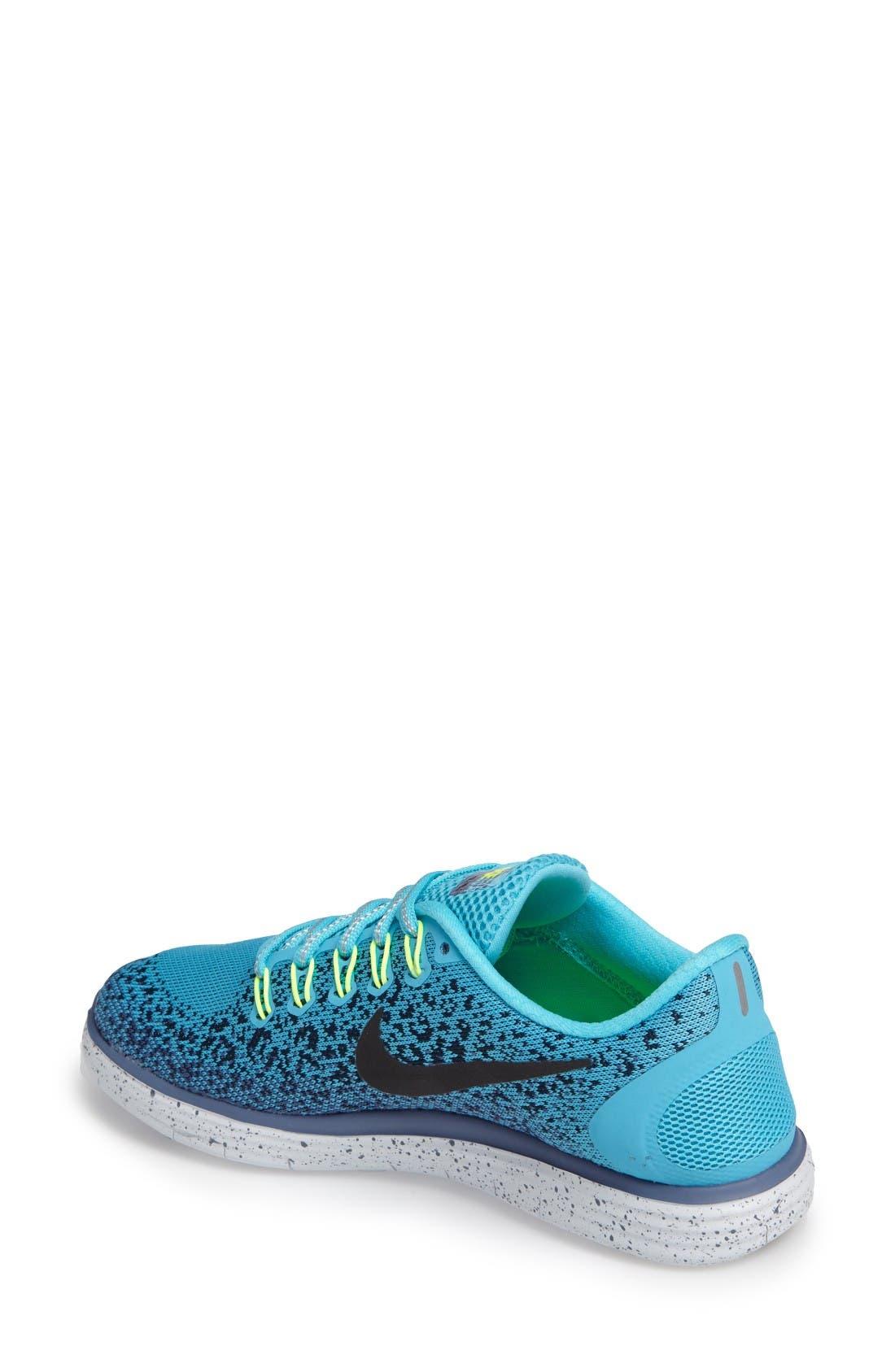 Alternate Image 2  - Nike Free RN Distance Shield Running Shoe (Women)