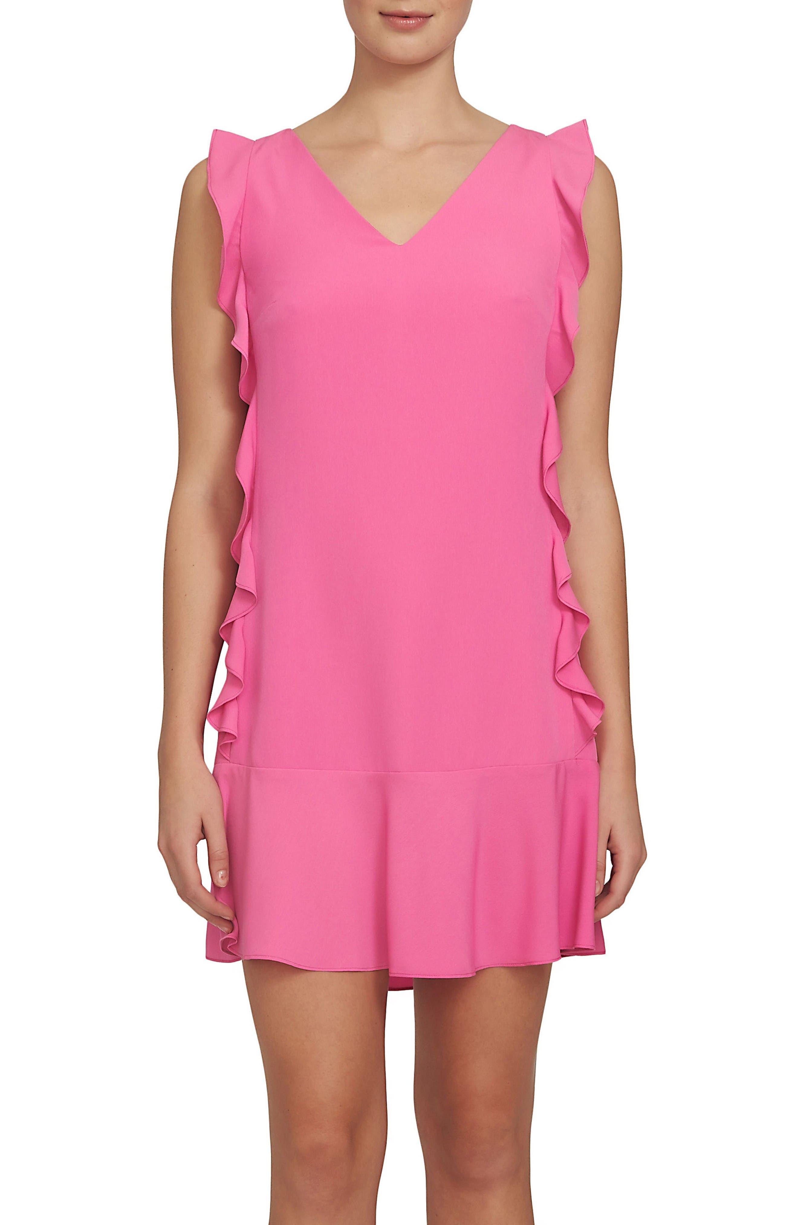 CeCe Harper Ruffle Dress