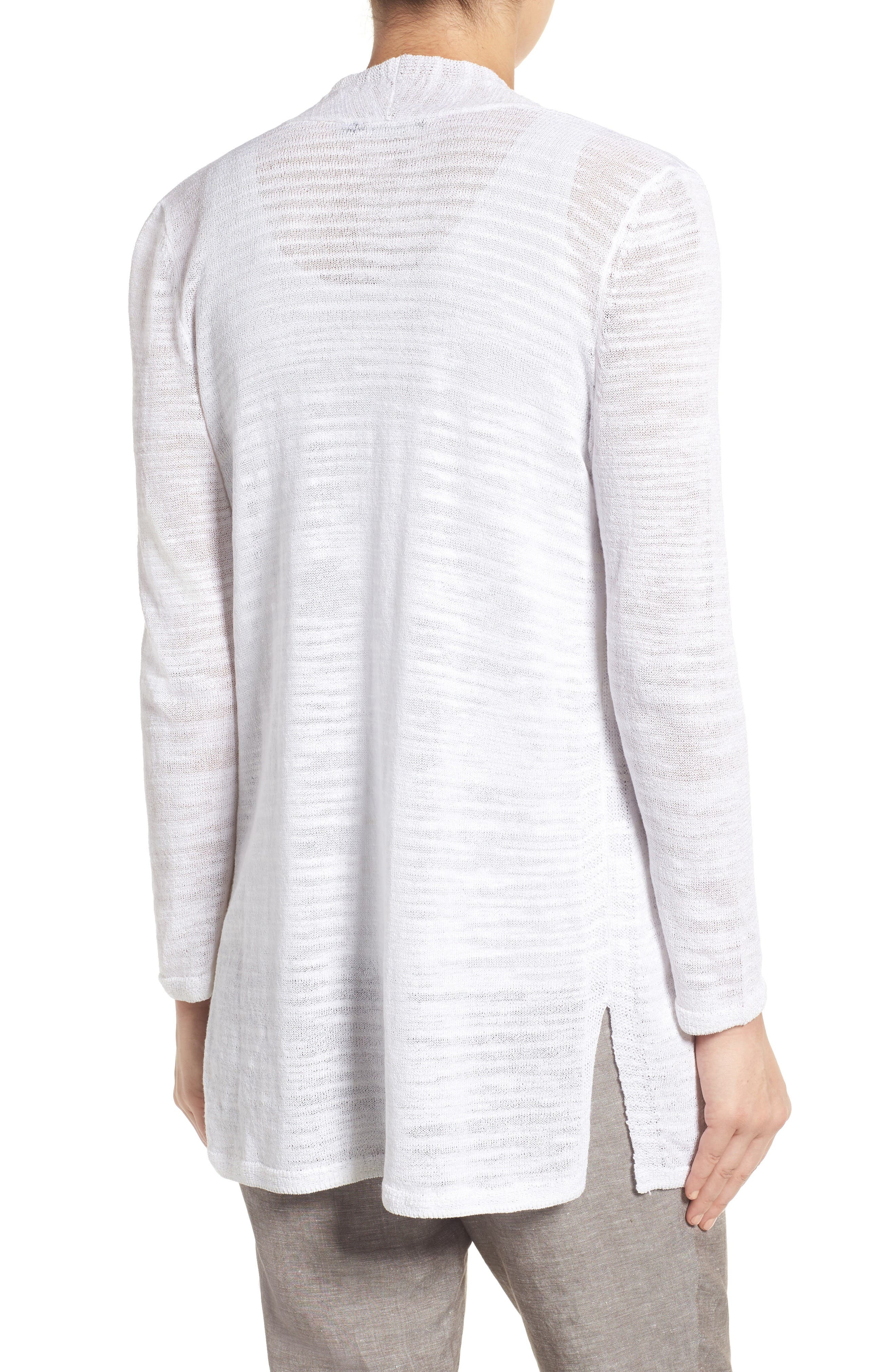 Alternate Image 2  - NIC+ZOE Islet Slub Knit Cardigan (Regular & Petite)