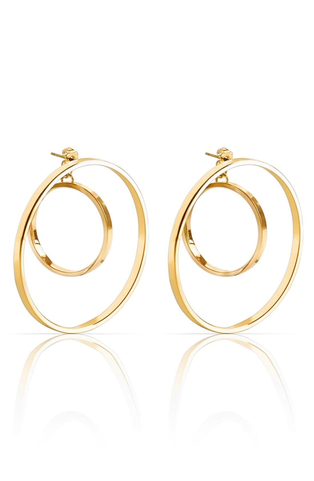 Jenny Bird Rise Hoop Earrings