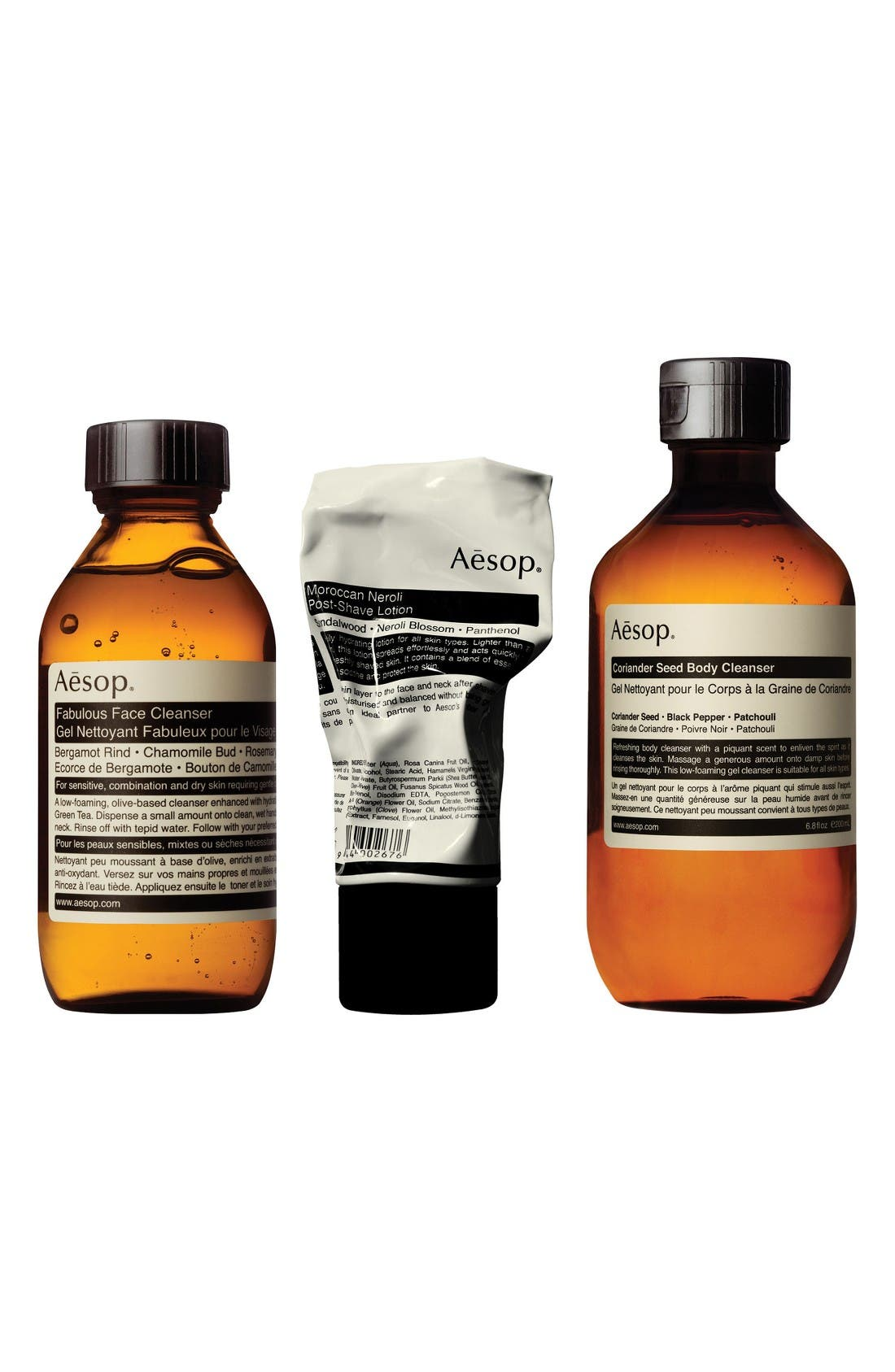 Aesop The Intrepid Gent Men's Essentials Kit