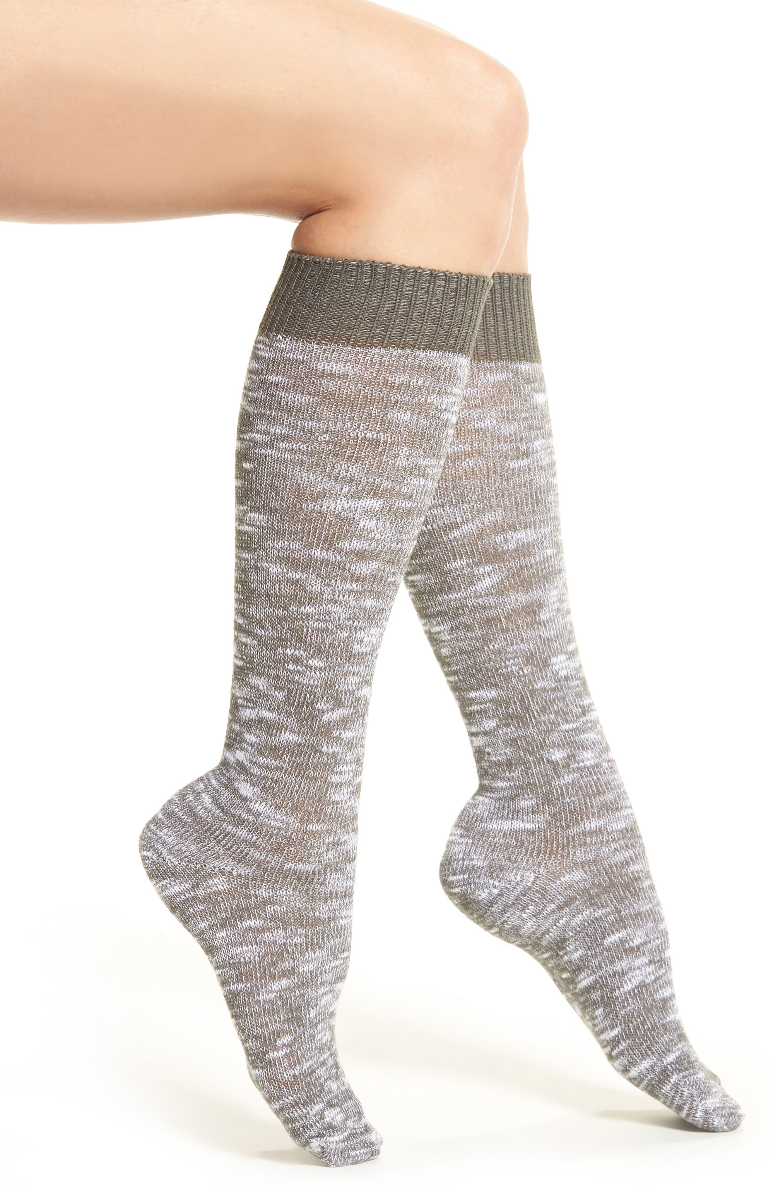 Alternate Image 1 Selected - Treasure & Bond Marled Knit Socks