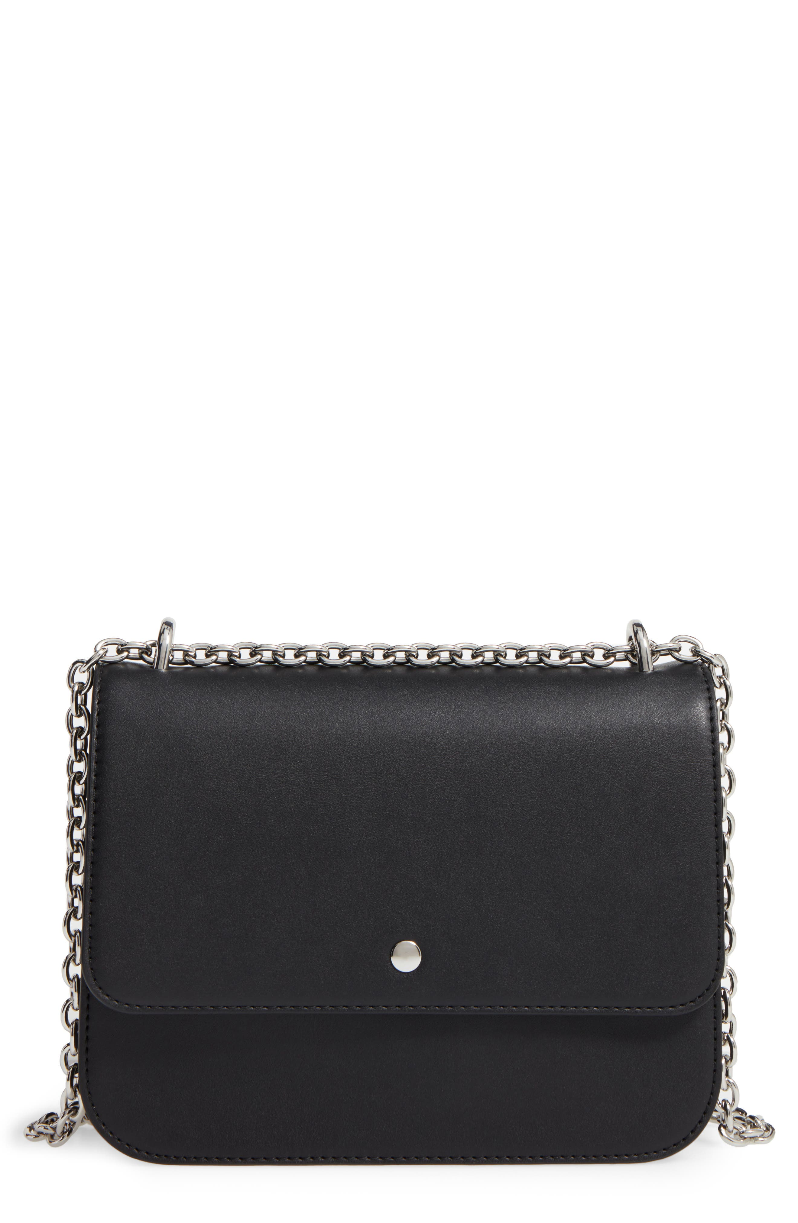 Alternate Image 1 Selected - Chelsea28 Dahlia Faux Leather Shoulder Bag