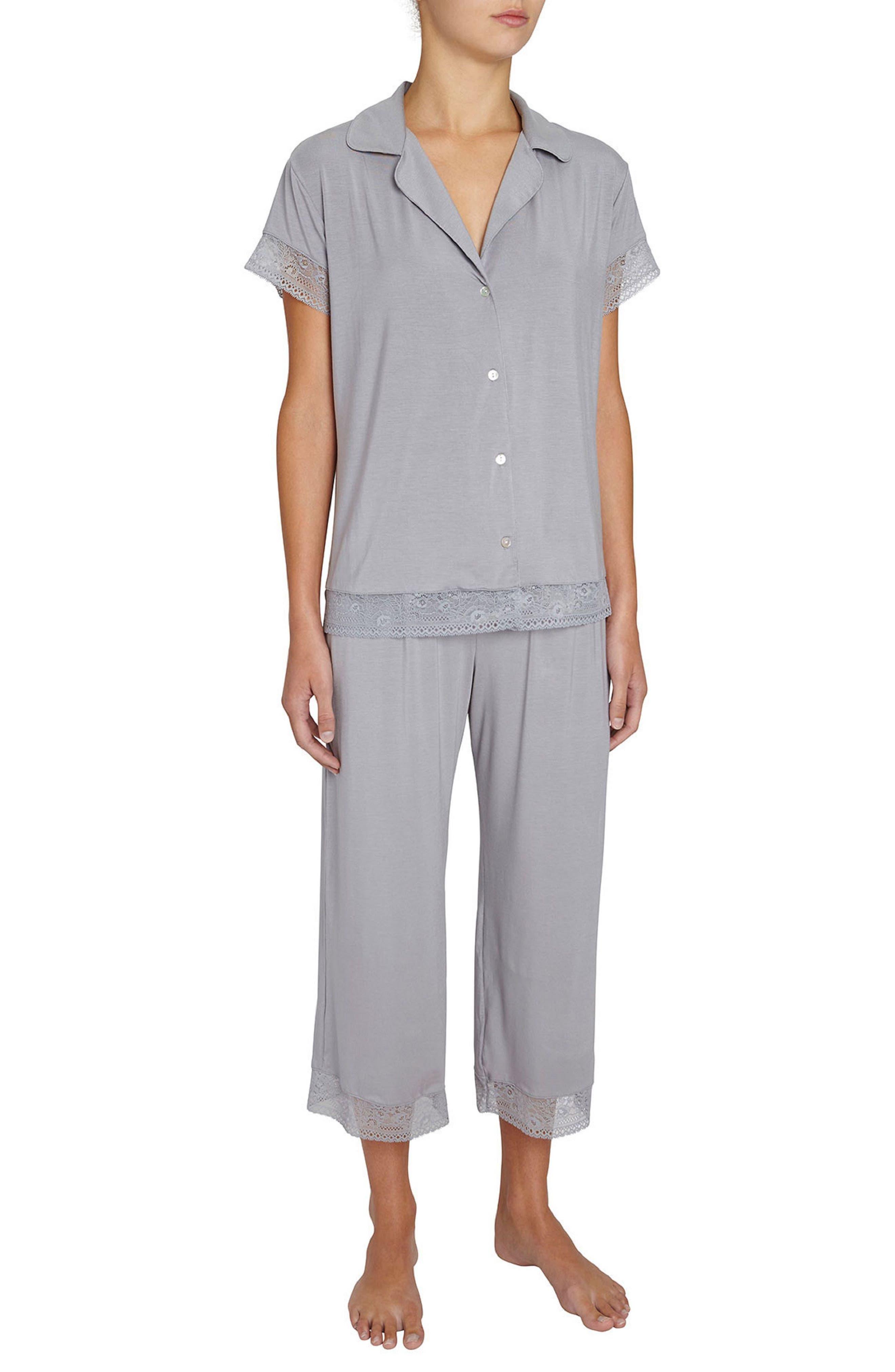 EBERJEY Adela Crop Pajamas