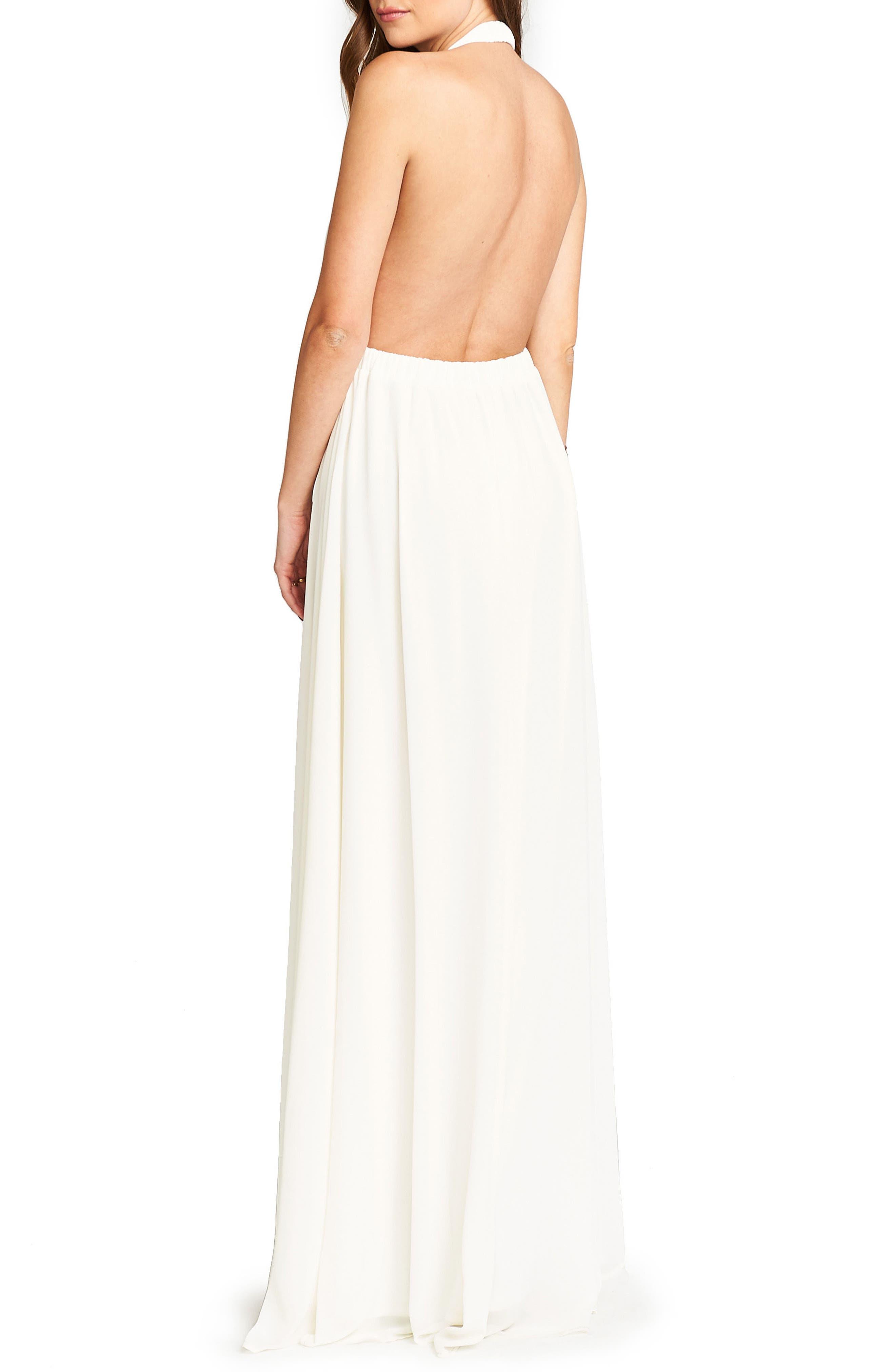 Alternate Image 2  - Show Me Your Mumu Luna Halter Gown
