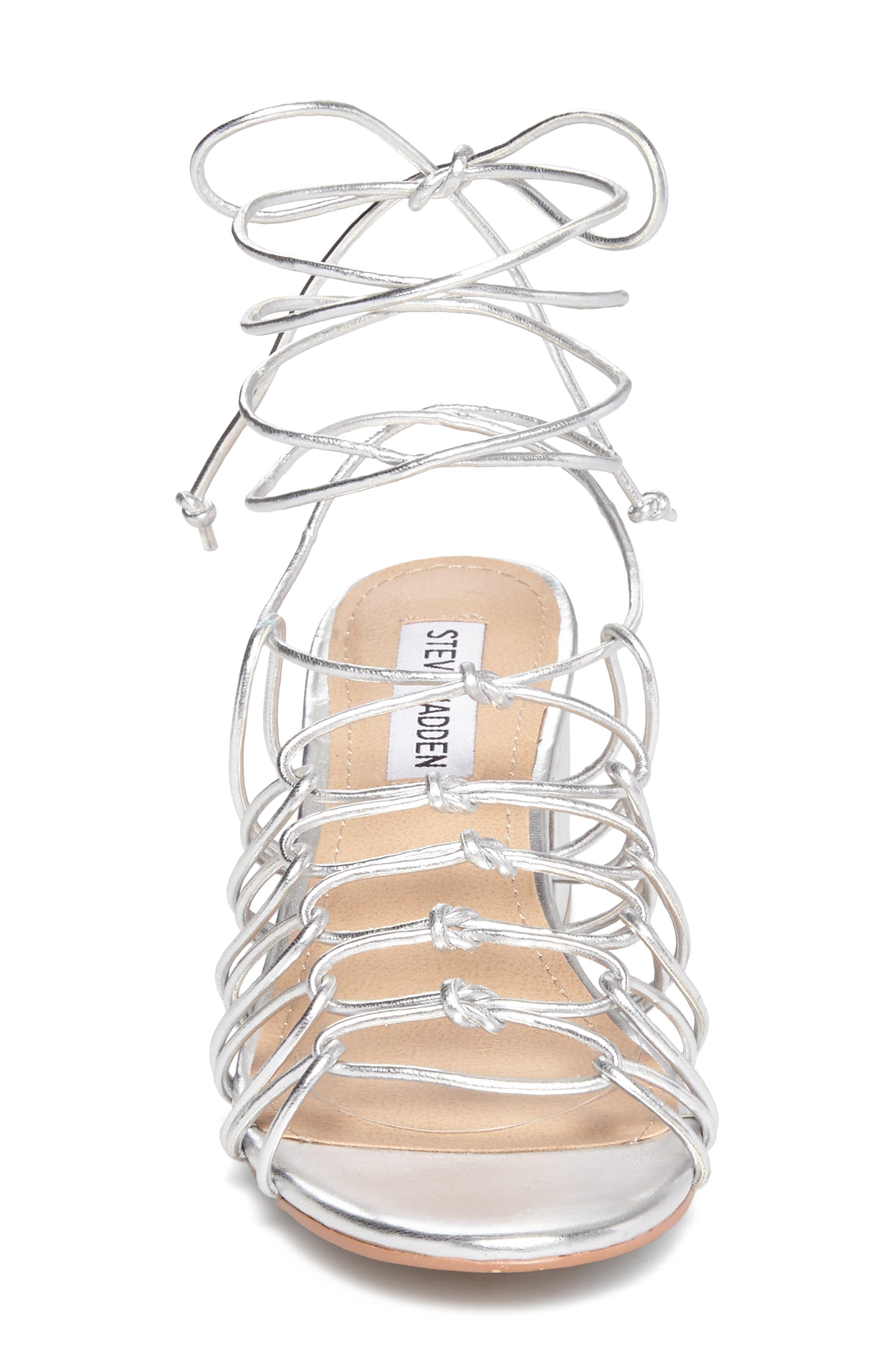 Alternate Image 3  - Steve Madden Illie Knotted Lace Sandal (Women)