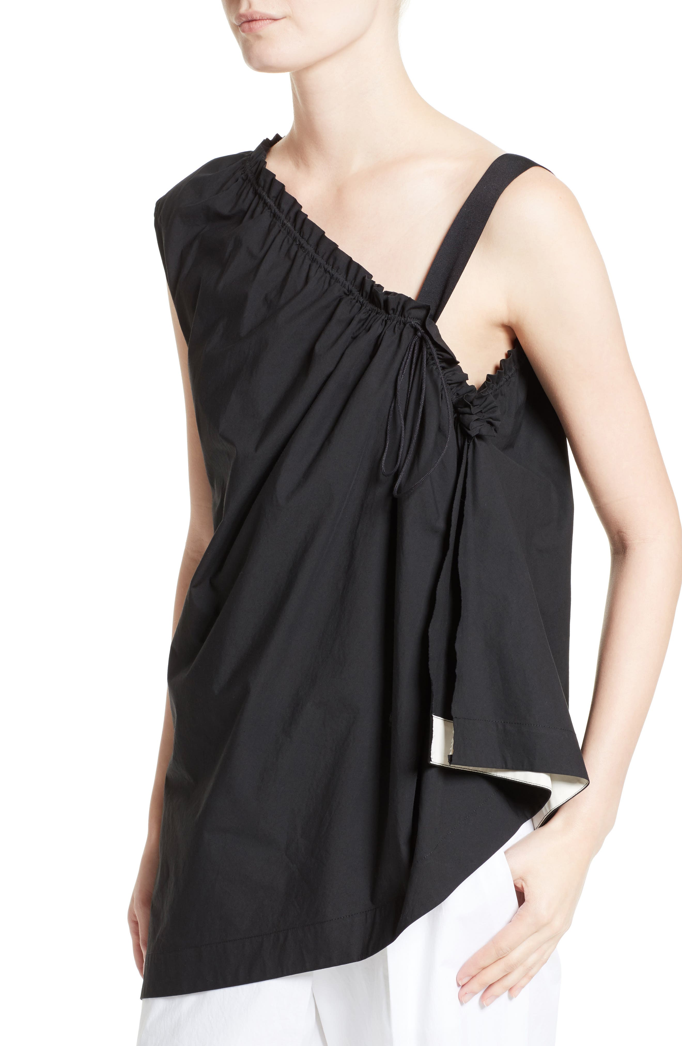 Alternate Image 6  - Colovos Ruched Single Strap Top
