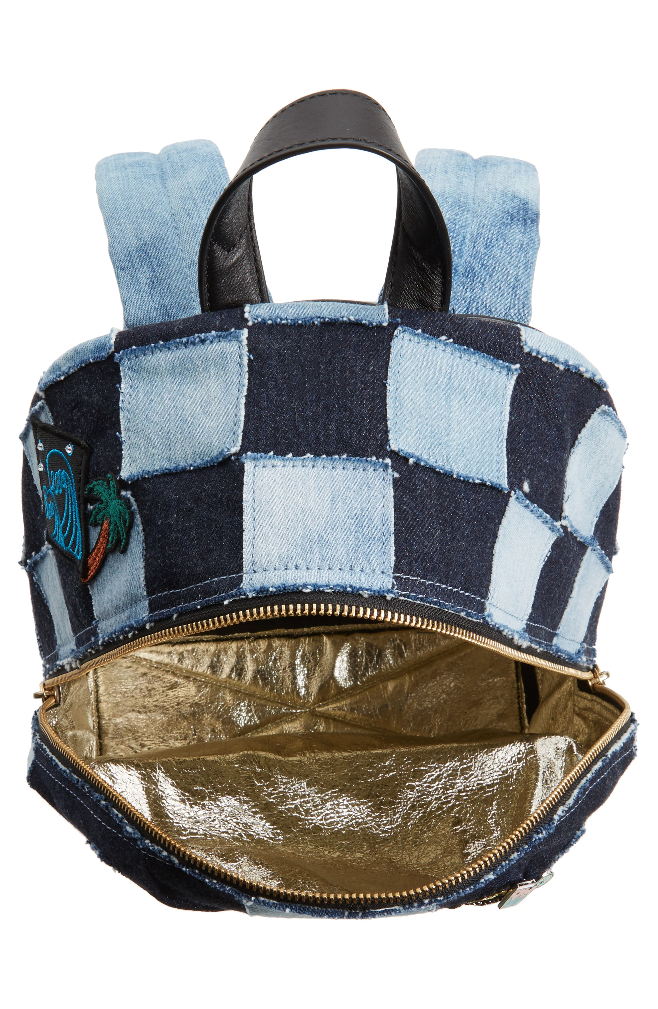 Alternate Image 4  - MARC JACOBS Denim Biker Backpack