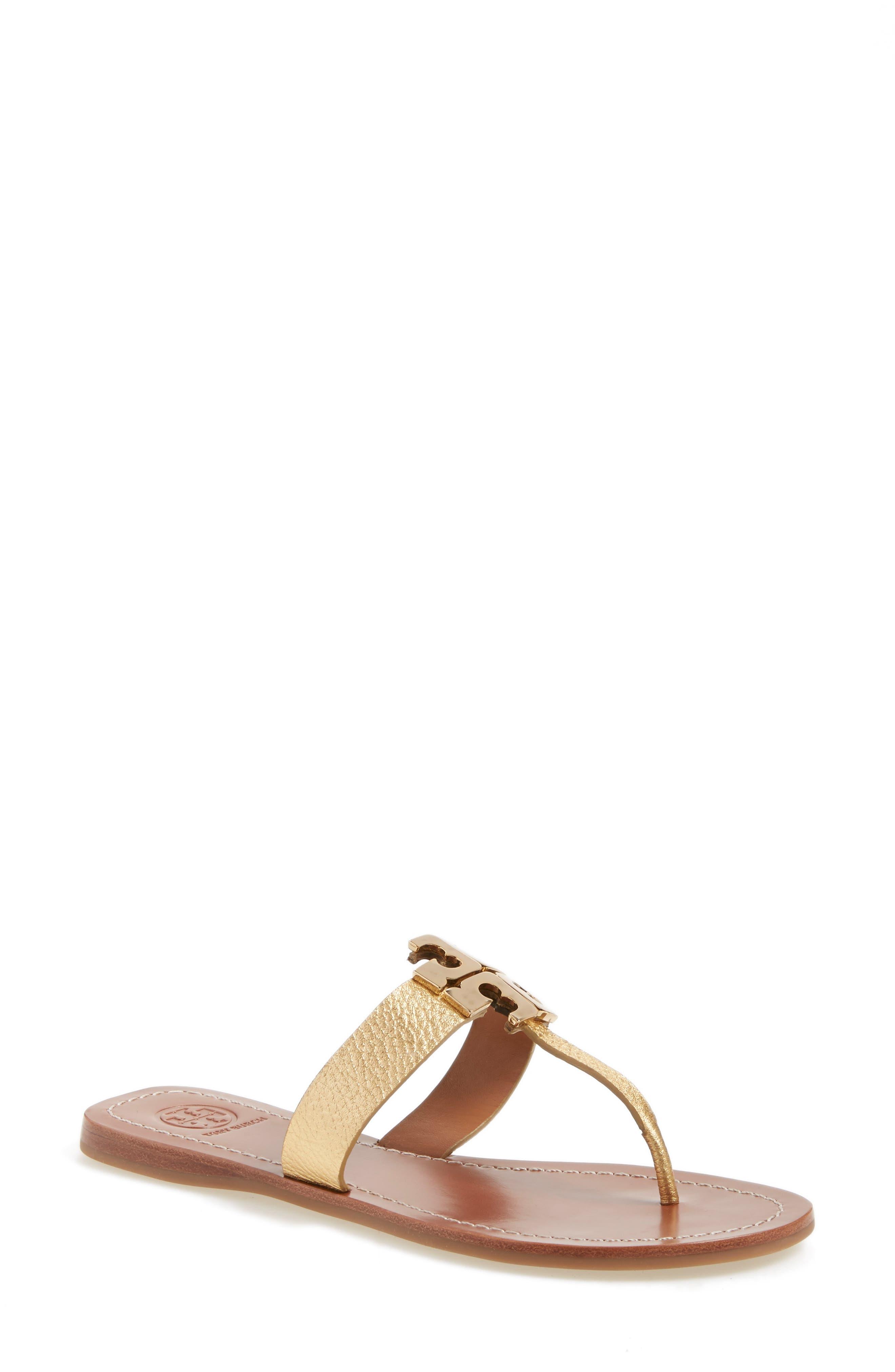Tory Burch Moore Logo Sandal (Women)