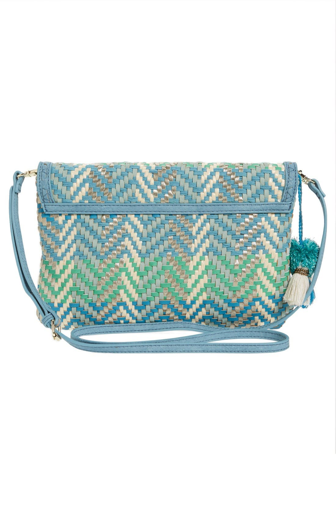 Alternate Image 3  - Steven by Steve Madden Woven Crossbody Bag