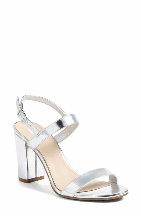 Women S Metallic Detail Sandals Nordstrom
