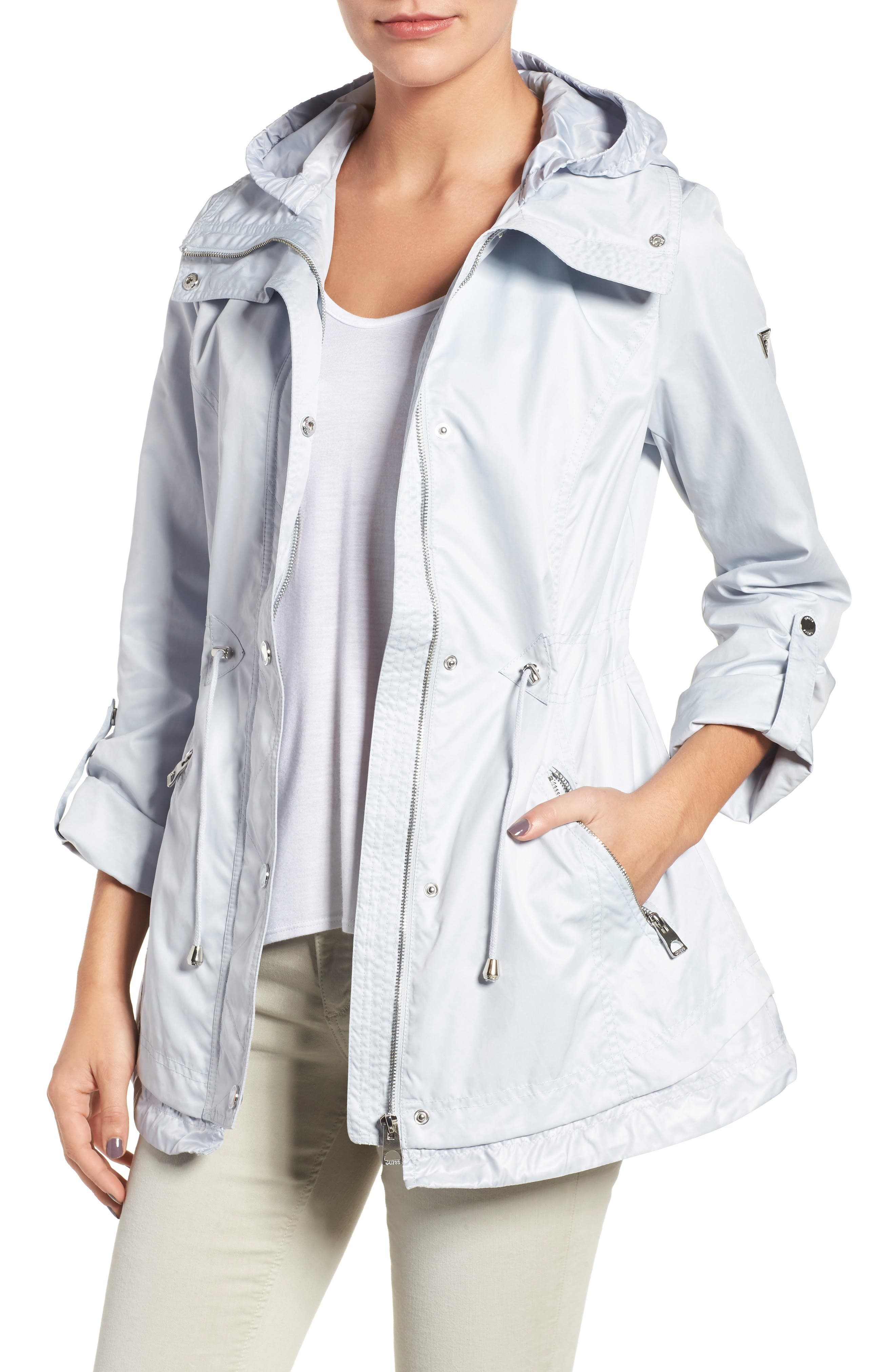 GUESS City Roll Sleeve Anorak