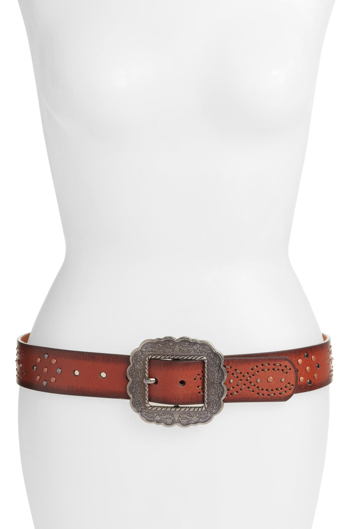 Main Image - Another Line Studded Western Belt