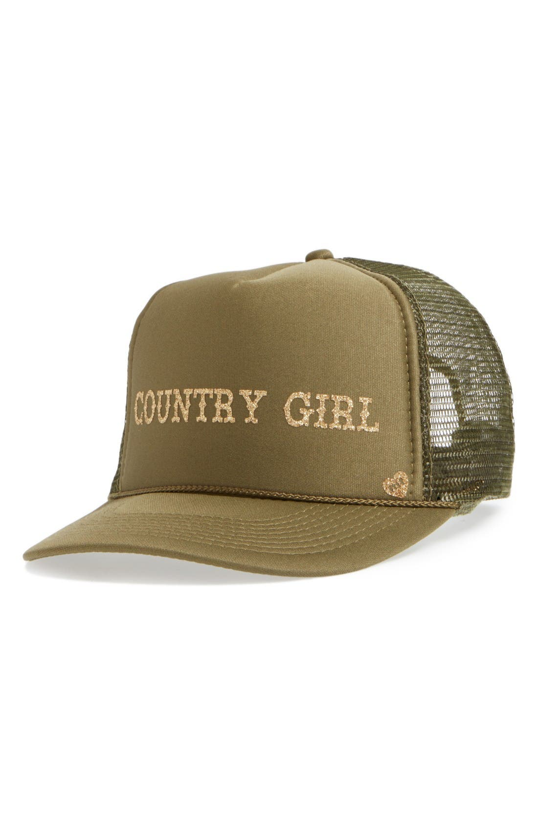 Alternate Image 1 Selected - Mother Trucker Hats Country Girl Trucker Hat