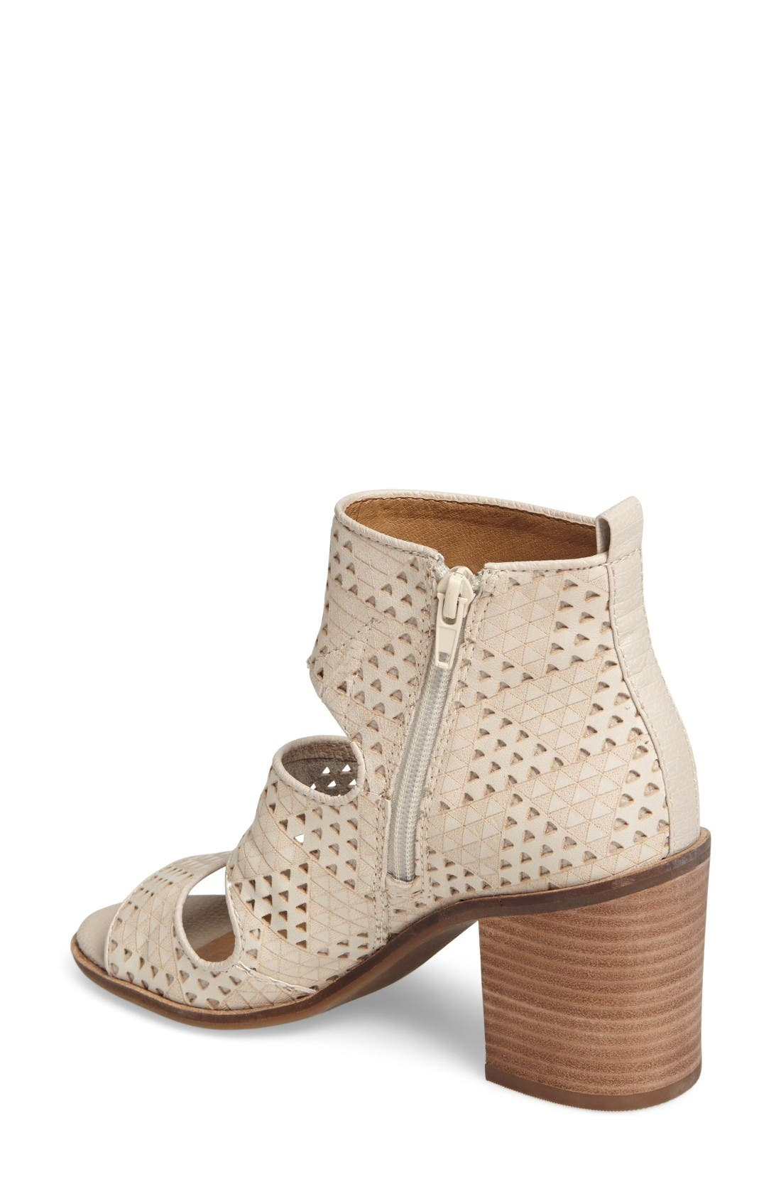 Alternate Image 2  - Lucky Kabott Block Heel Sandal (Women)