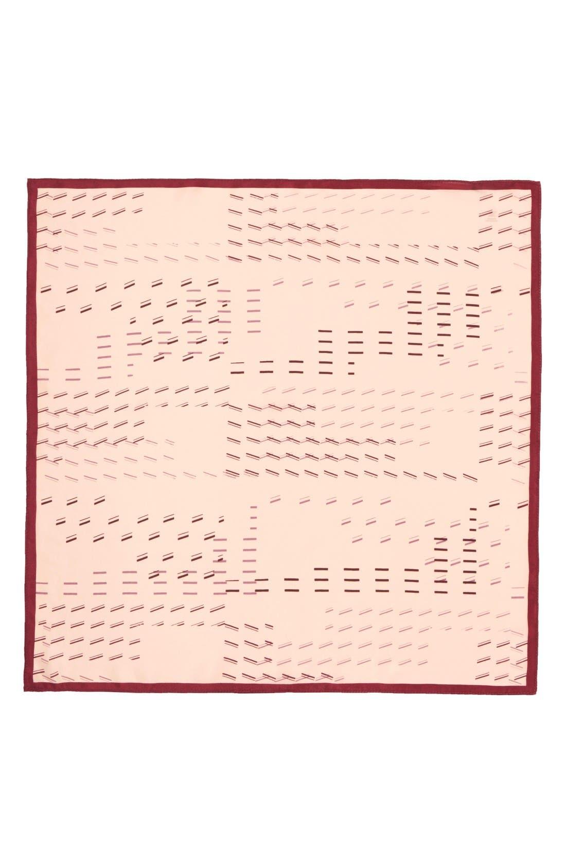 Alternate Image 2  - Halogen® Square Silk Scarf