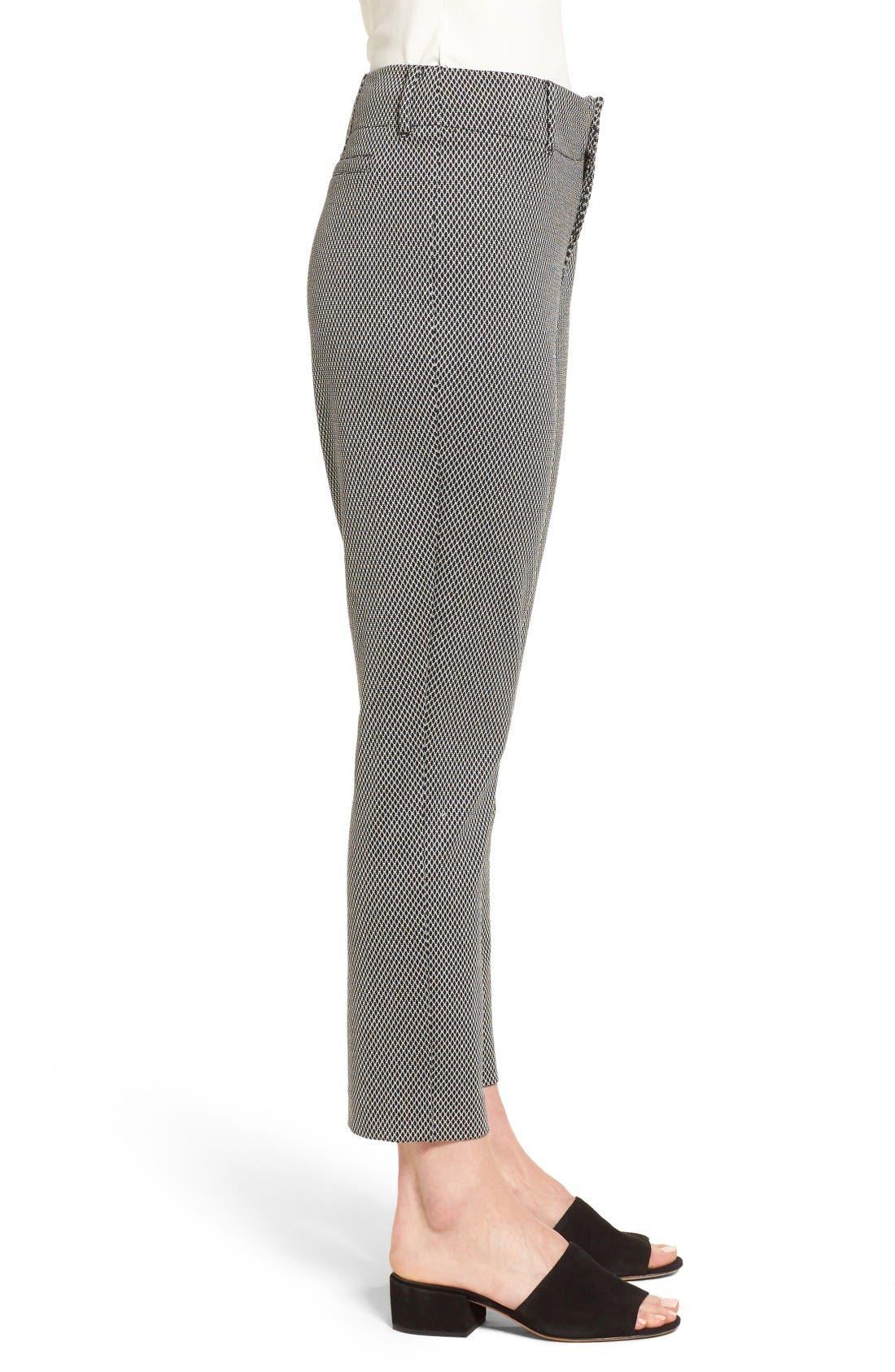 Alternate Image 3  - NYDJ Renee Stretch Jacquard Ankle Pants