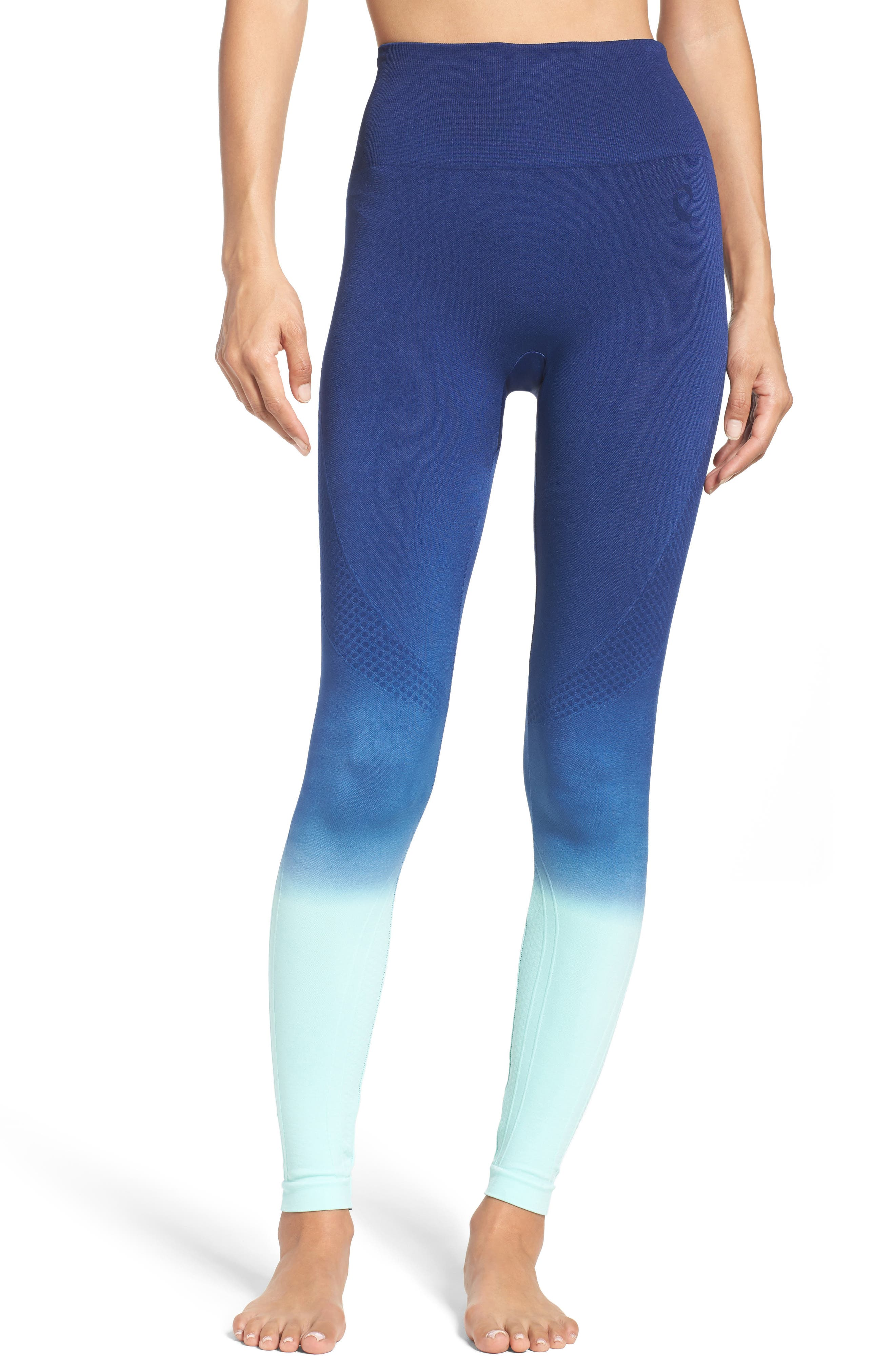 Alternate Image 1 Selected - Climawear Set the Pace High Waist Leggings