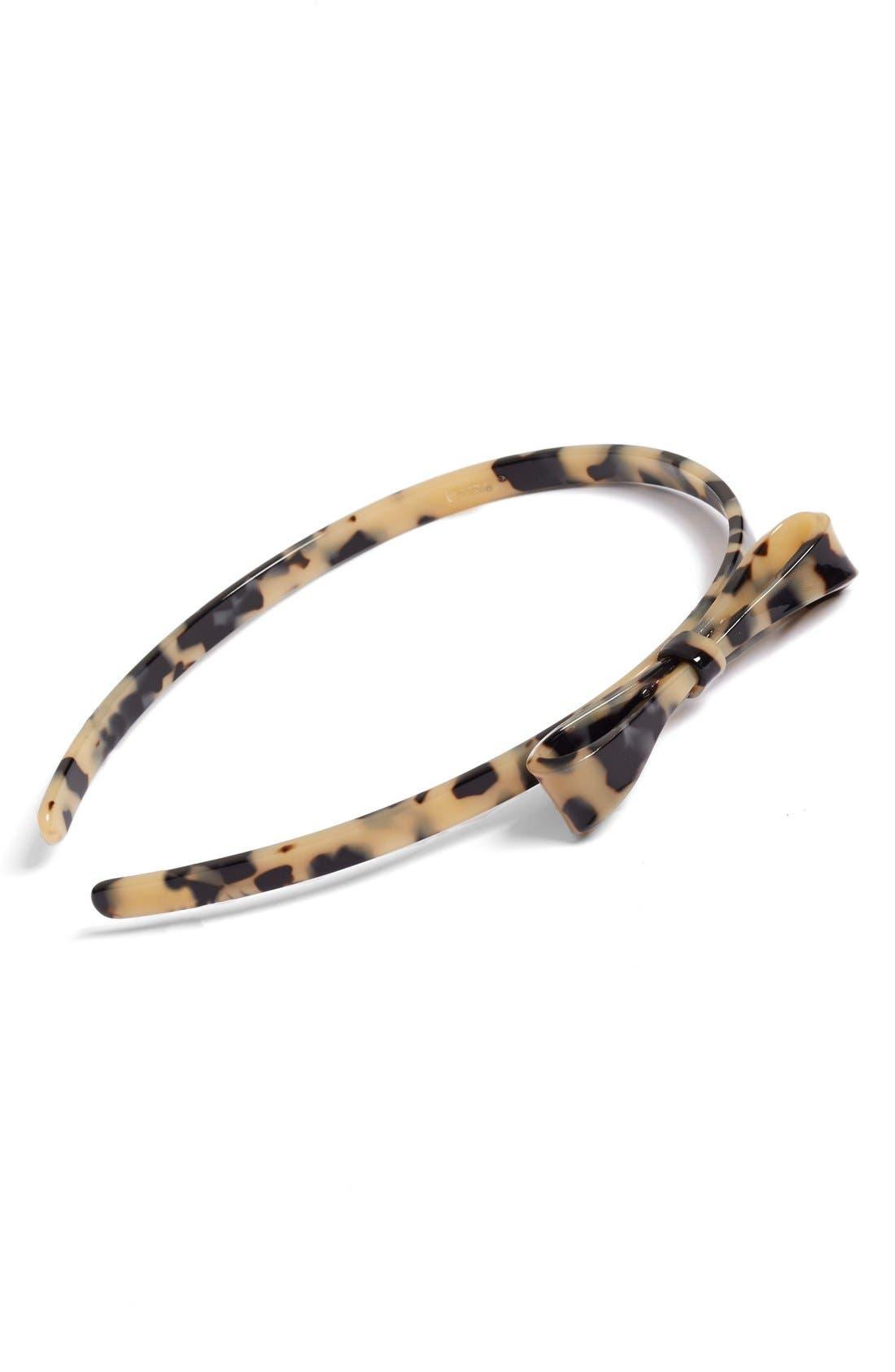 Main Image - L. Erickson 'Swanky Bow' Headband