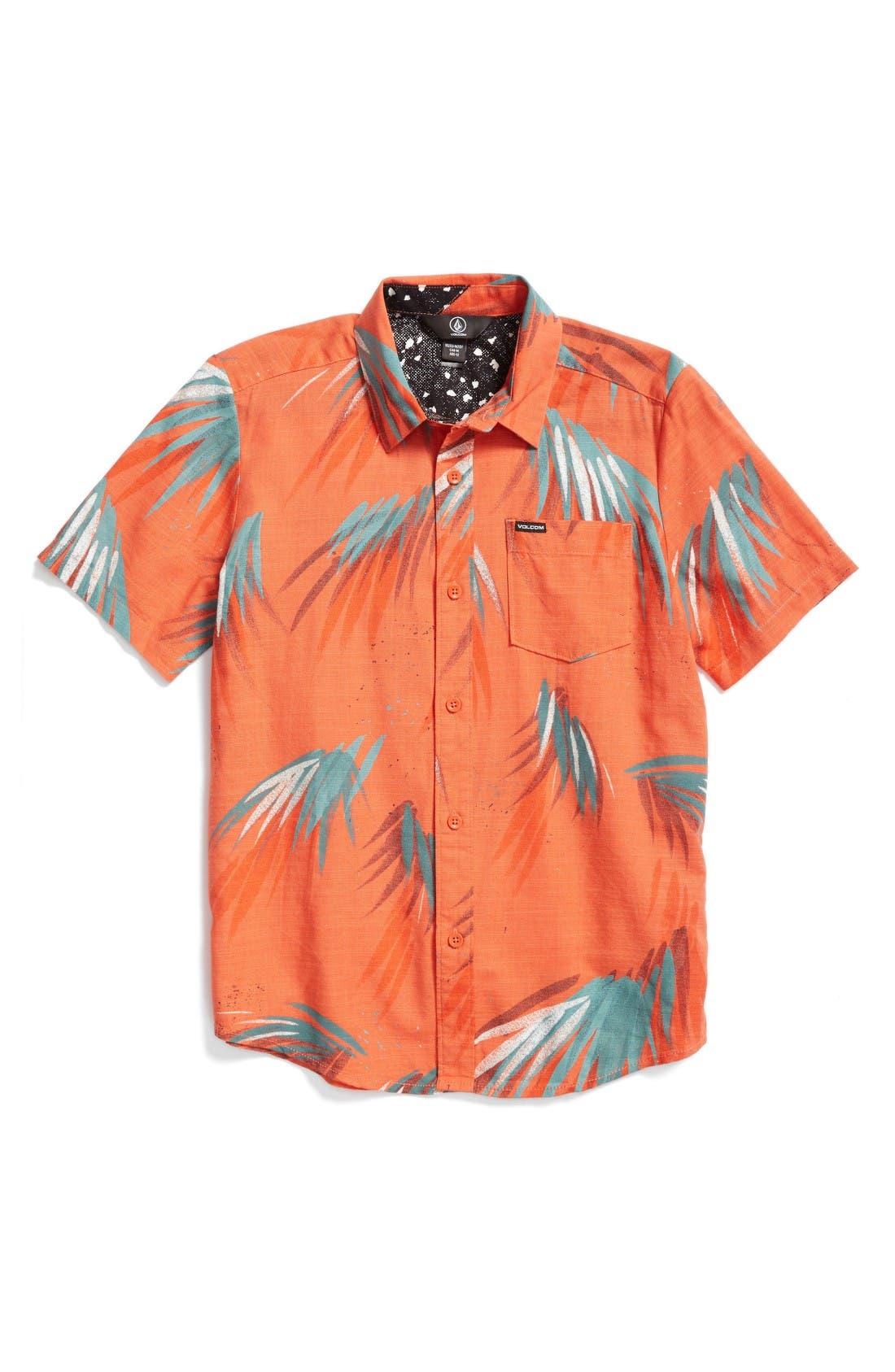 Volcom Maui Palm Shirt (Big Boys)