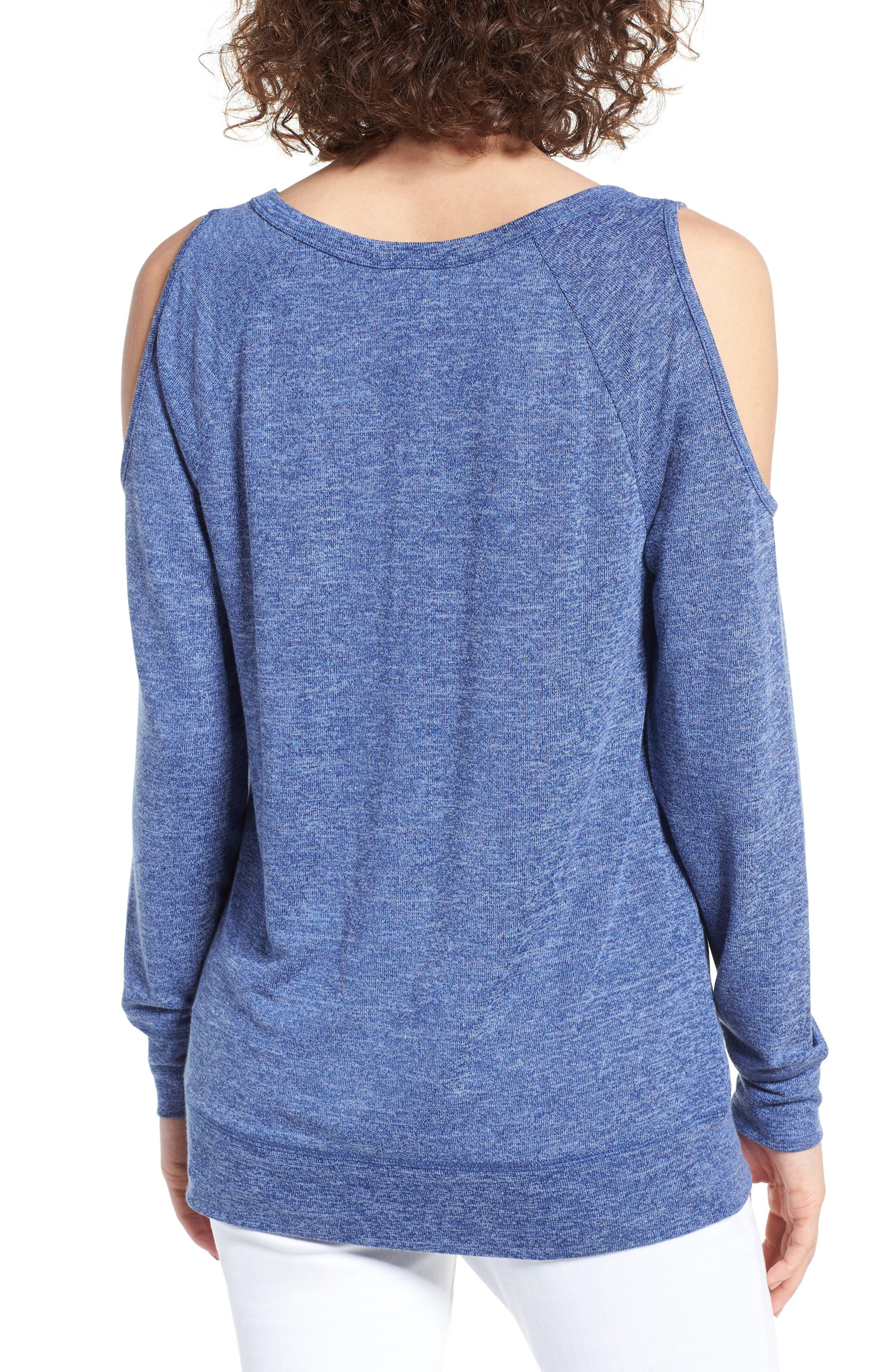 Alternate Image 2  - BP. Cold Shoulder Sweatshirt