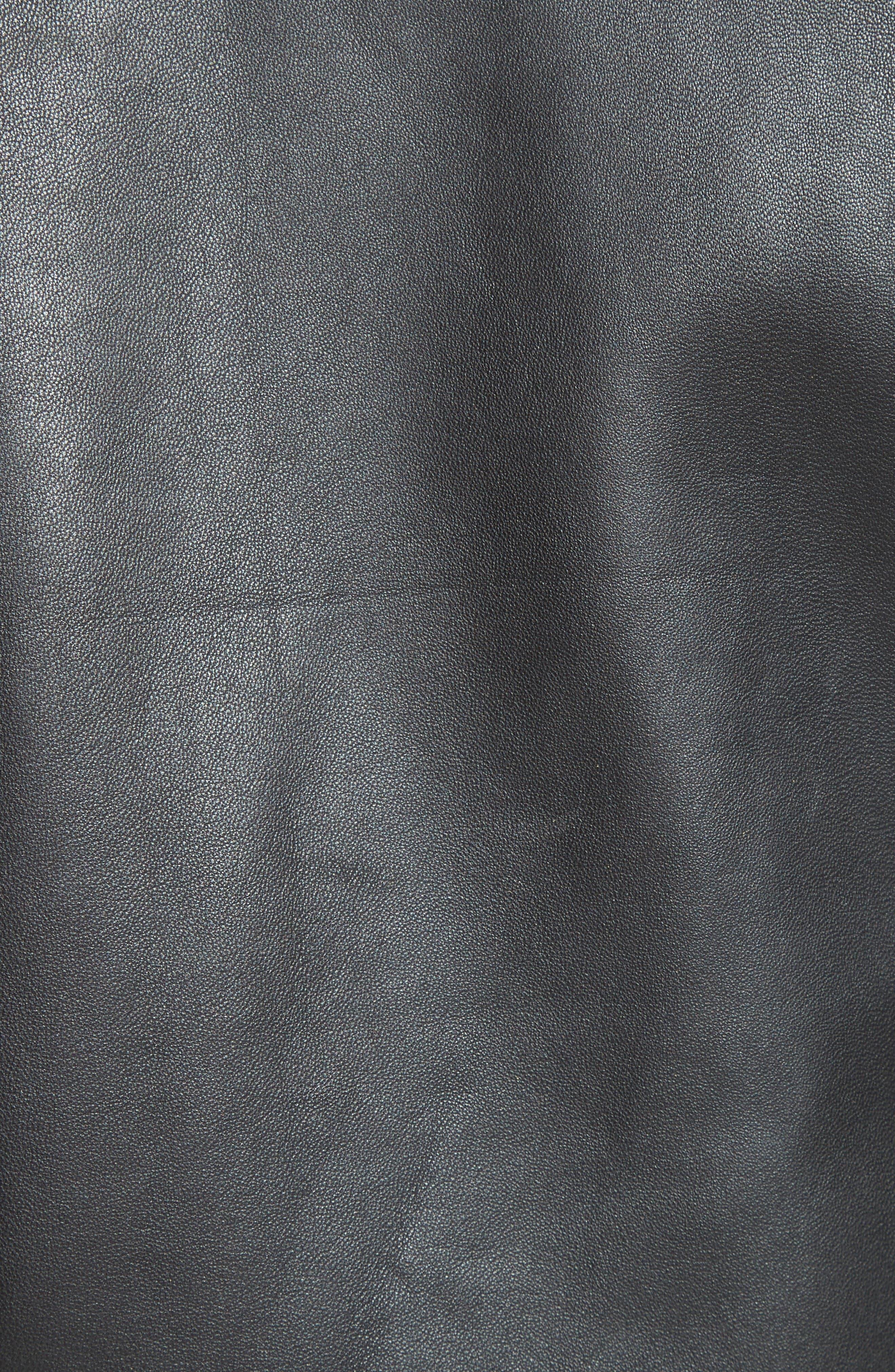 Alternate Image 6  - The Kooples Lambskin Leather Jacket