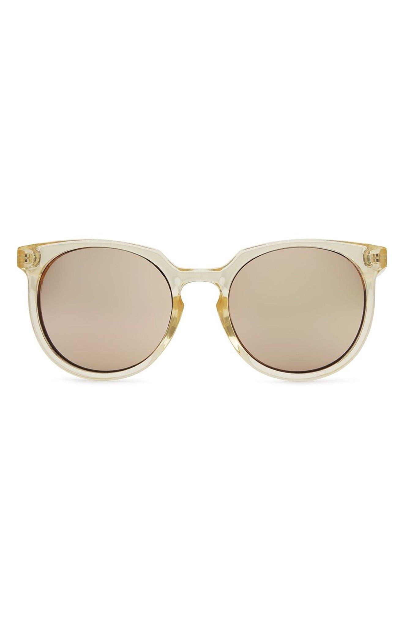 Quay Australia Don't Change 60mm Round Sunglasses