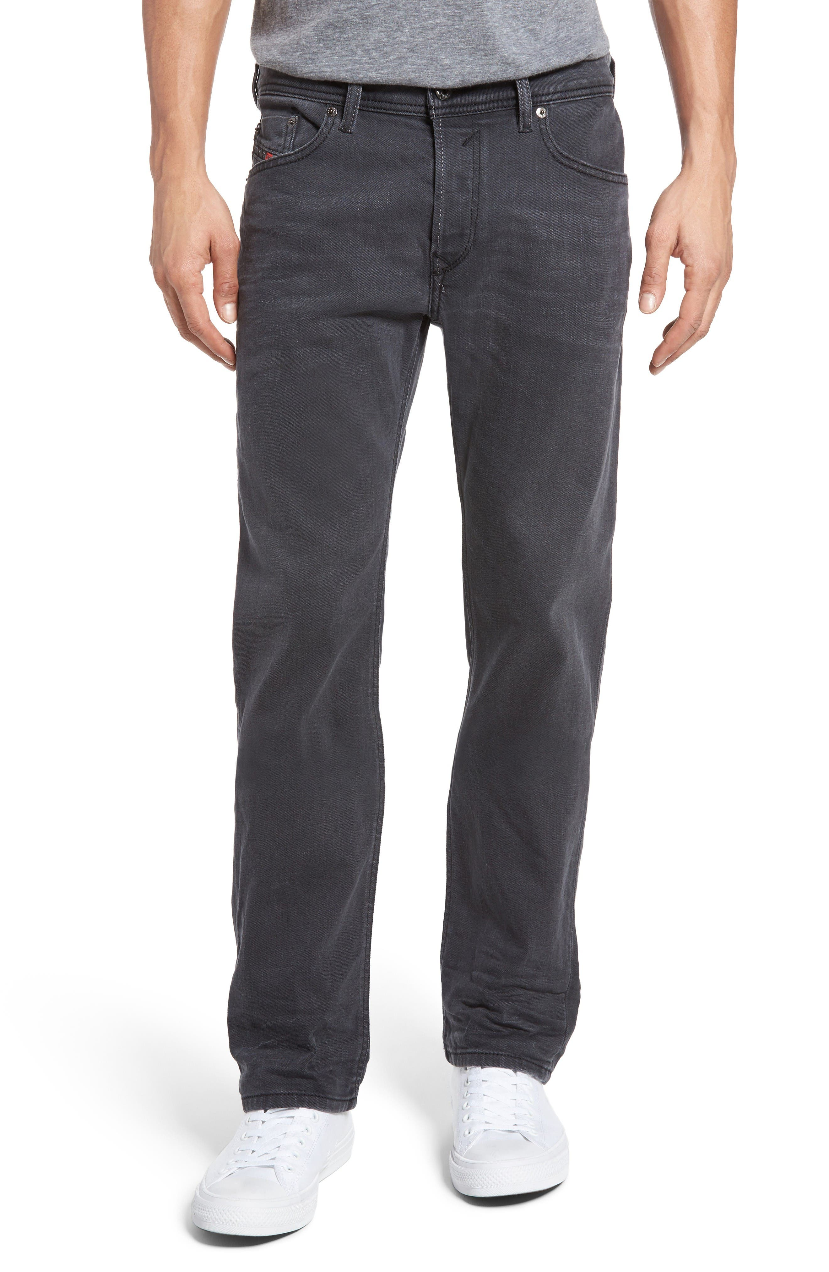 DIESEL® Waykee Relaxed Fit Jeans (0859X)