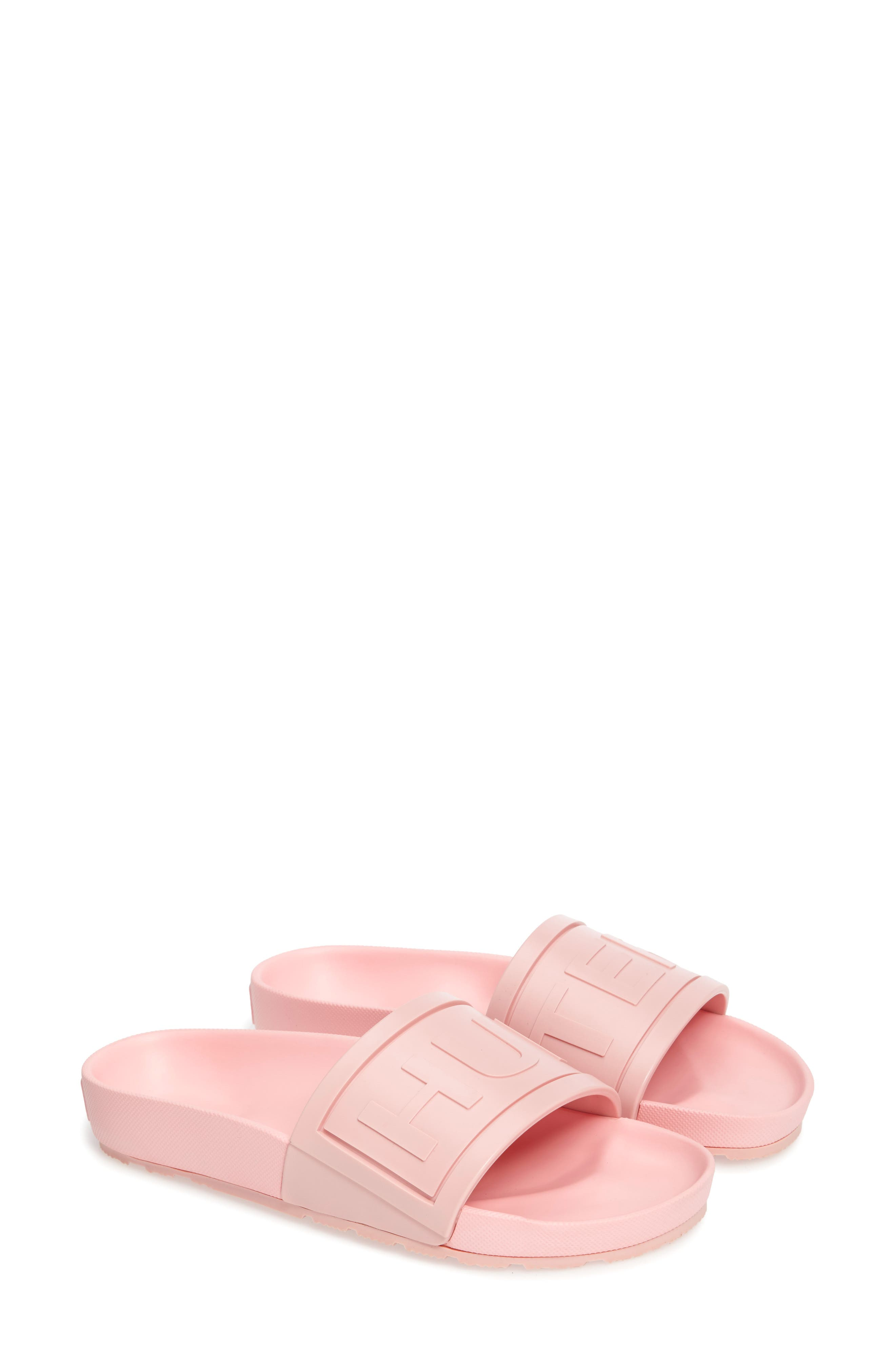 Hunter Logo Slide Sandal (Women)