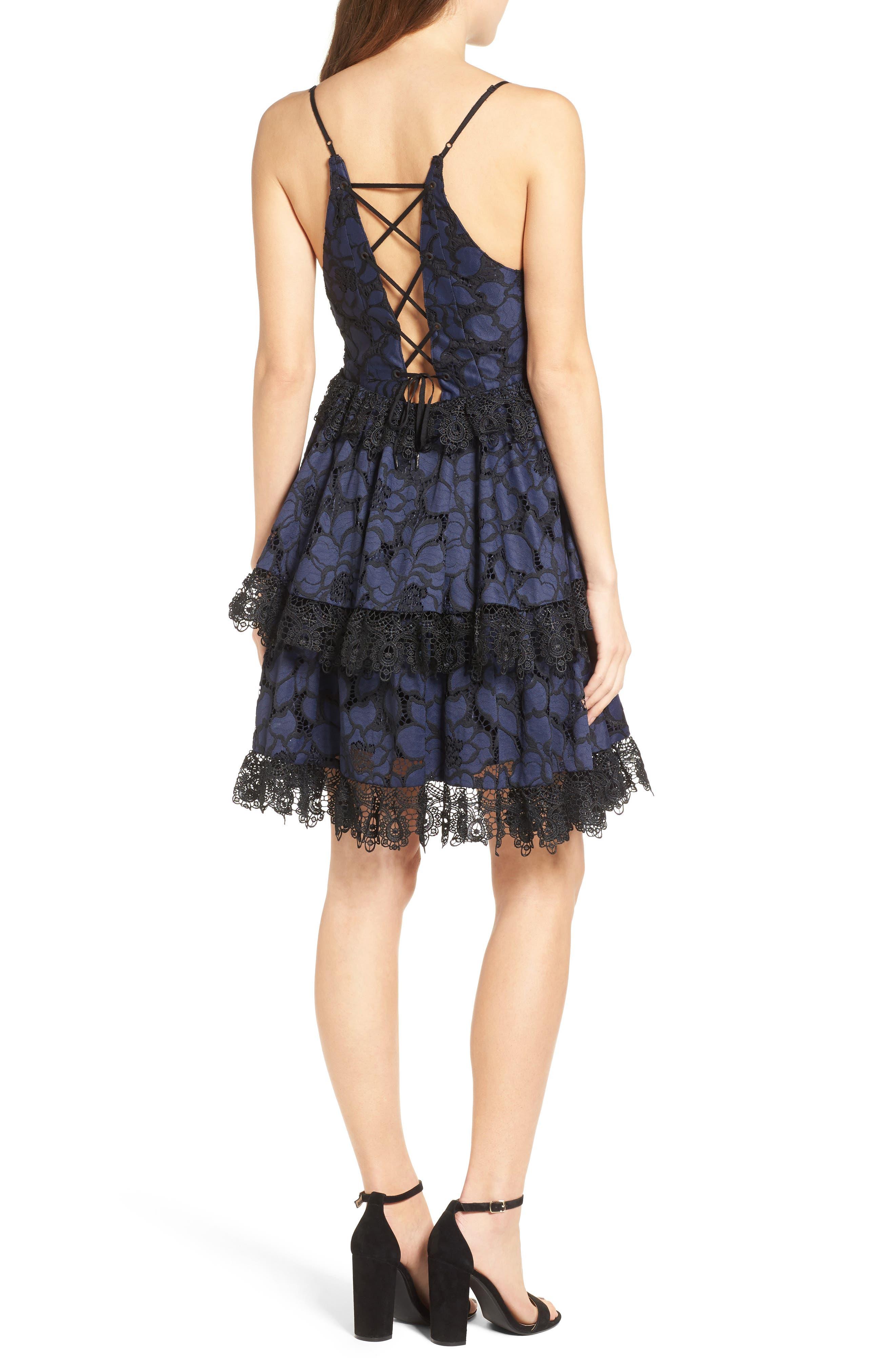 Alternate Image 2  - KENDALL + KYLIE Lace Babydoll Dress