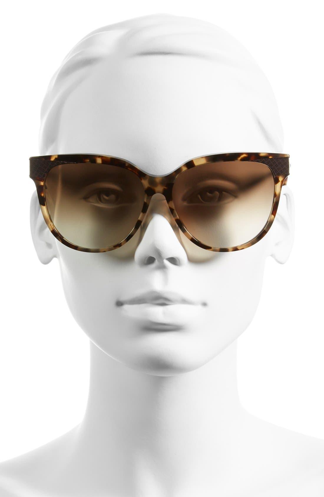 Alternate Image 2  - Bottega Venata 59mm Special Fit Sunglasses