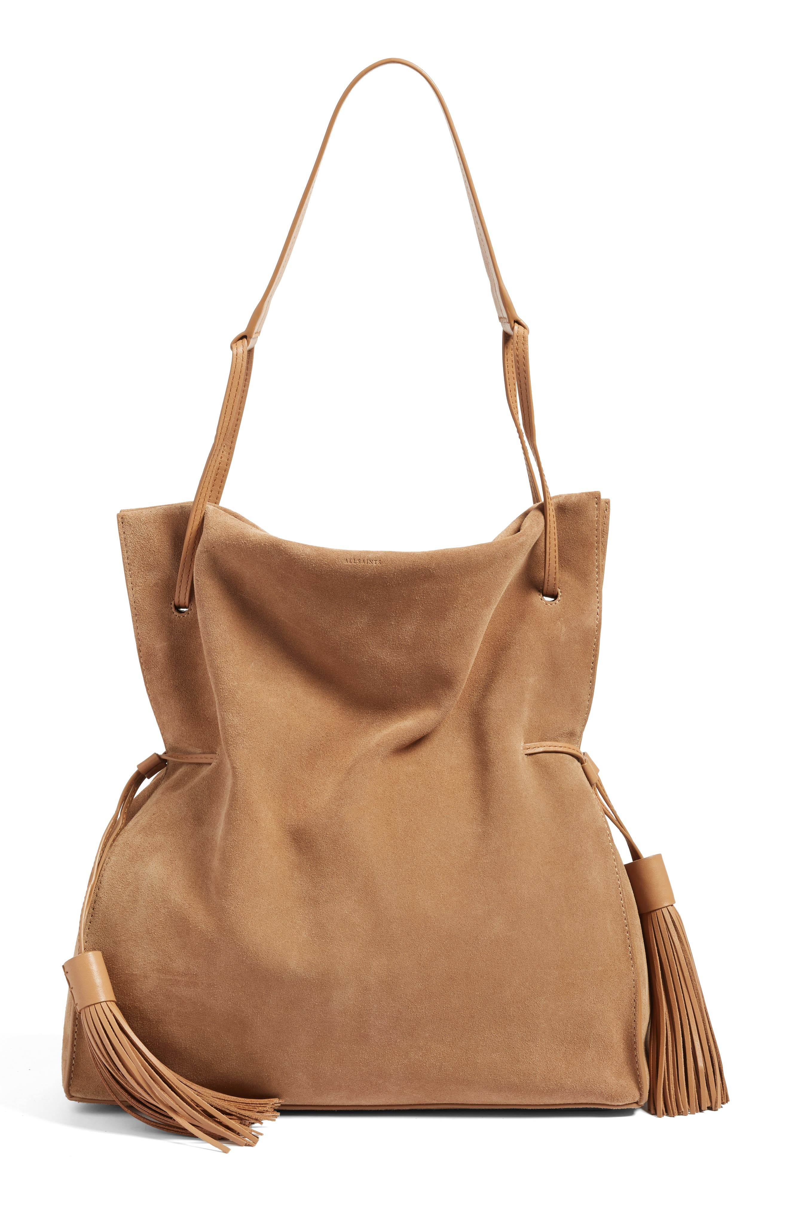 ALLSAINTS 'Freedom' Suede Hobo
