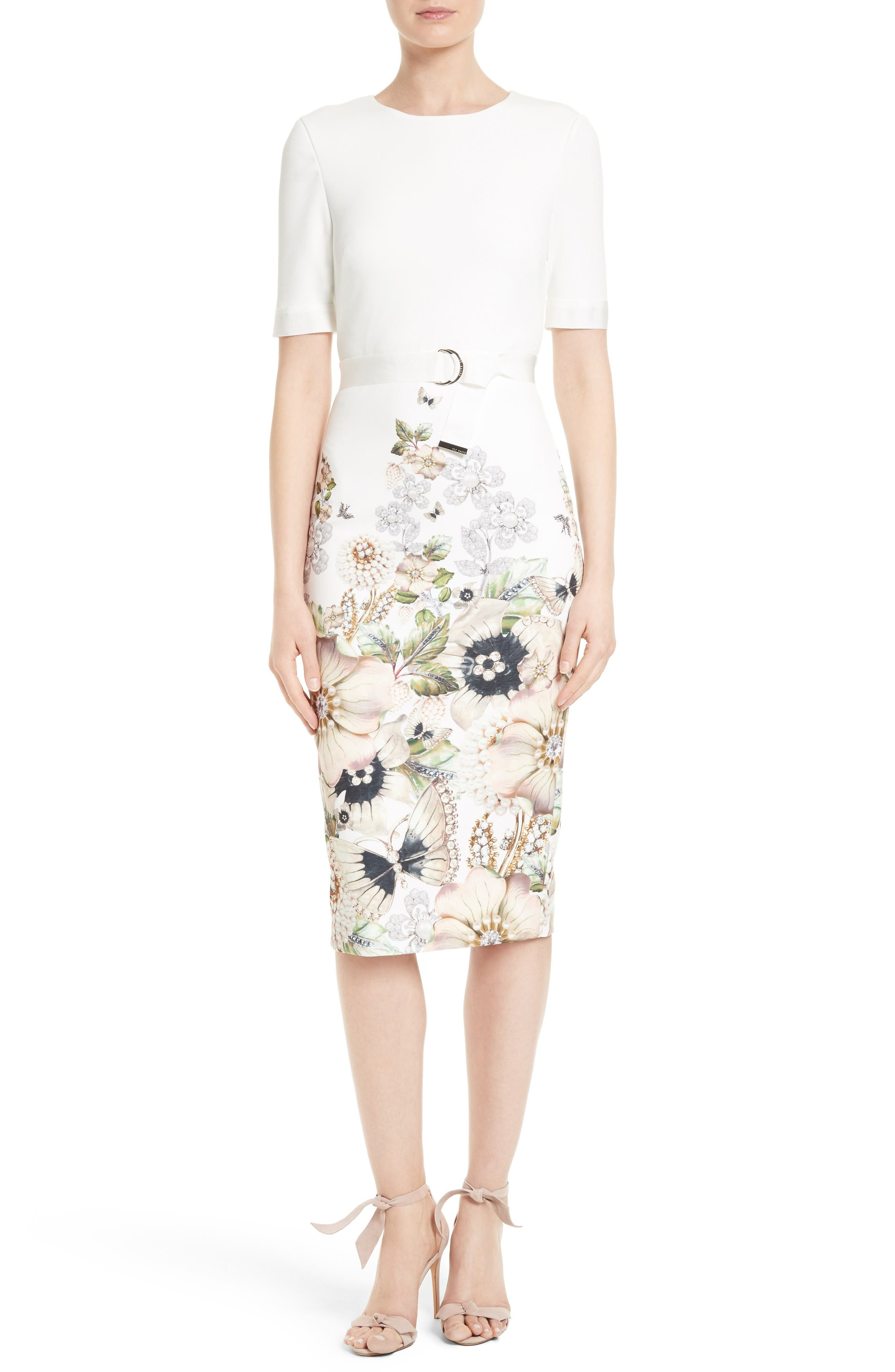 TED BAKER LONDON Layli Sheath Dress