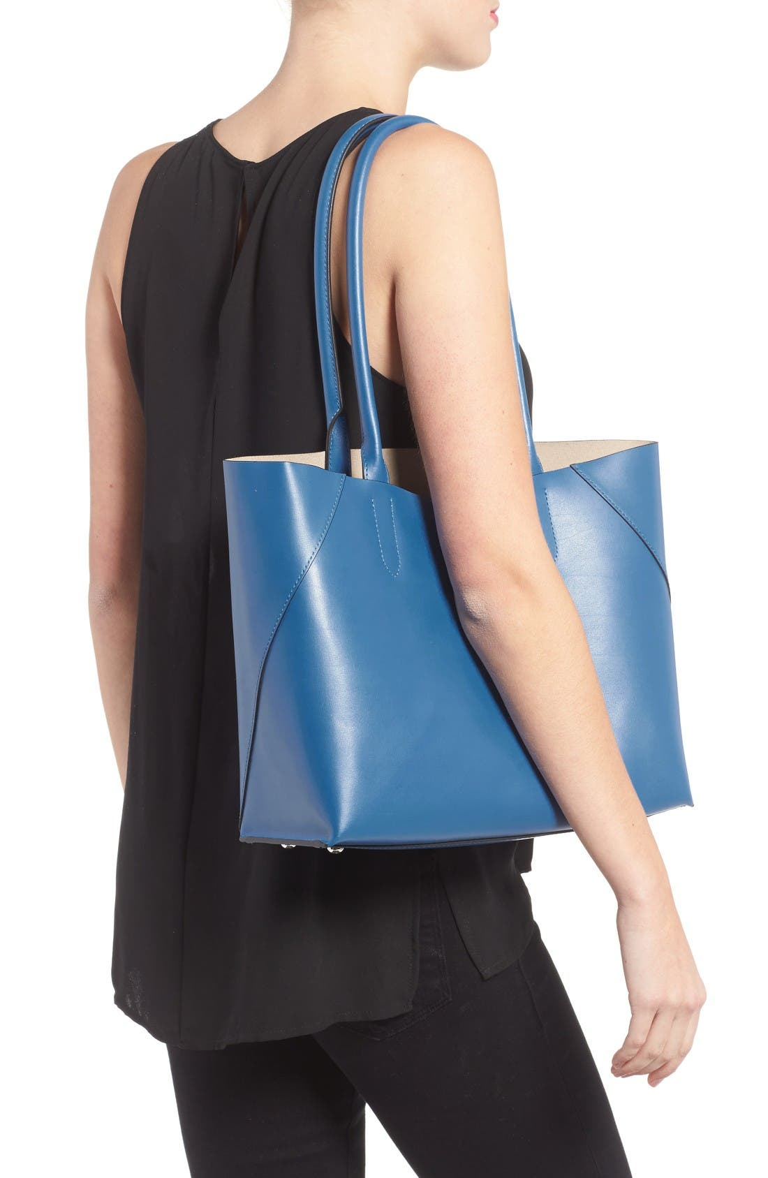 Alternate Image 2  - Lodis Blair Collection Cynthia Leather Tote
