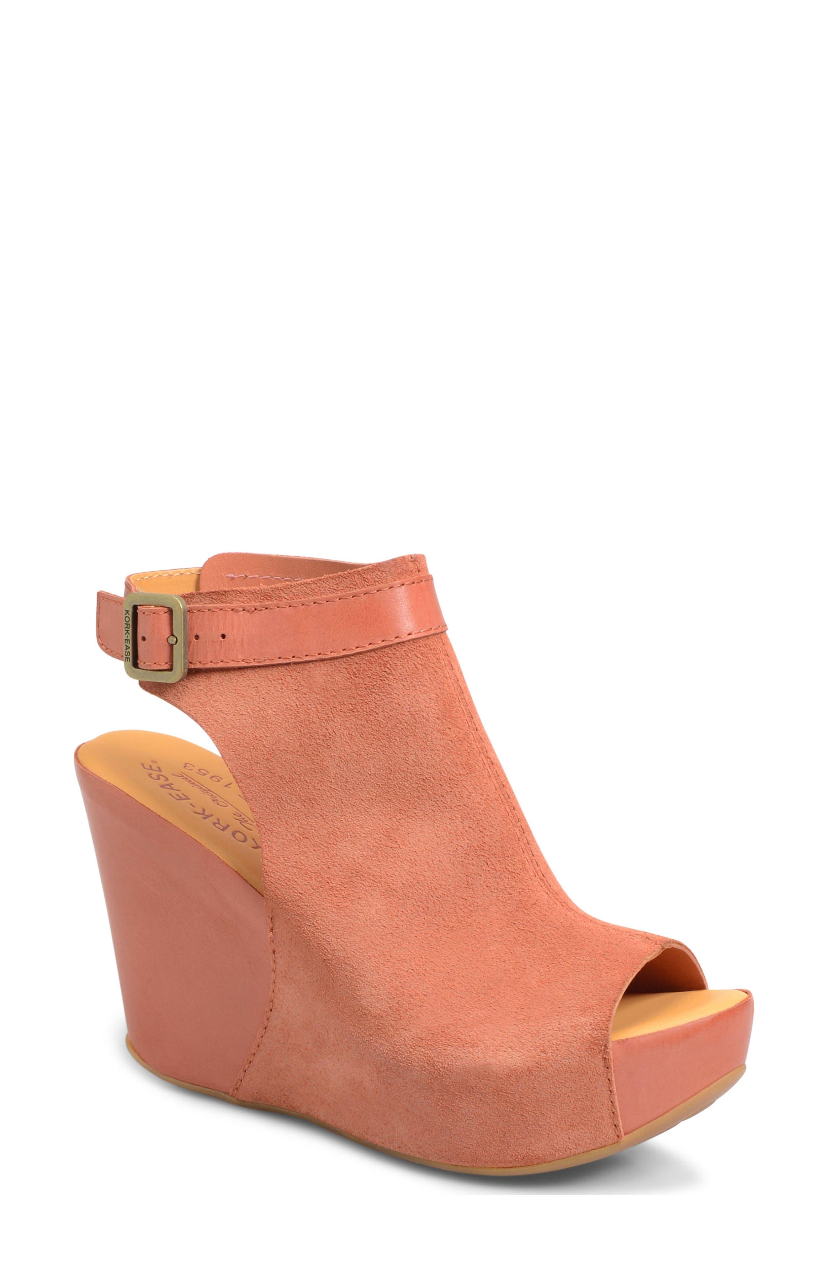 Alternate Image 1 Selected - Kork-Ease® 'Berit' Wedge Sandal (Women)