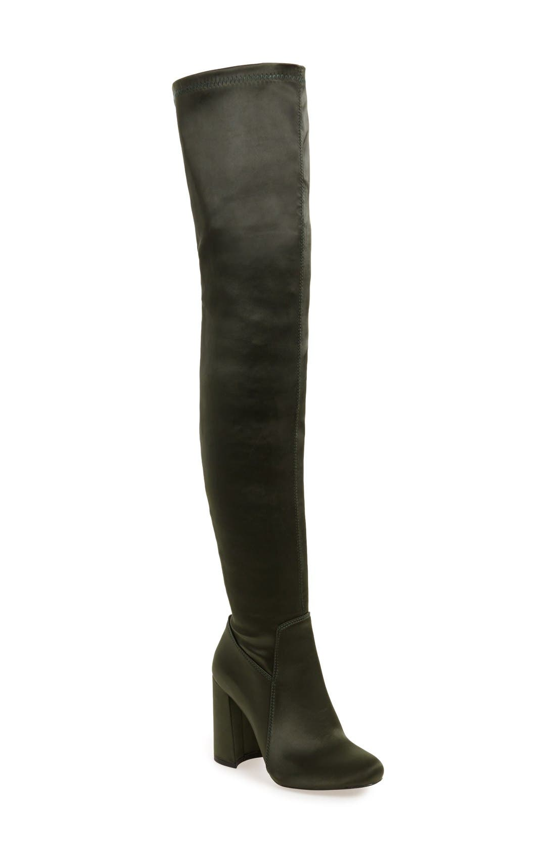 Jeffrey Campbell Perouze 2 Thigh High Stretch Boot (Women)